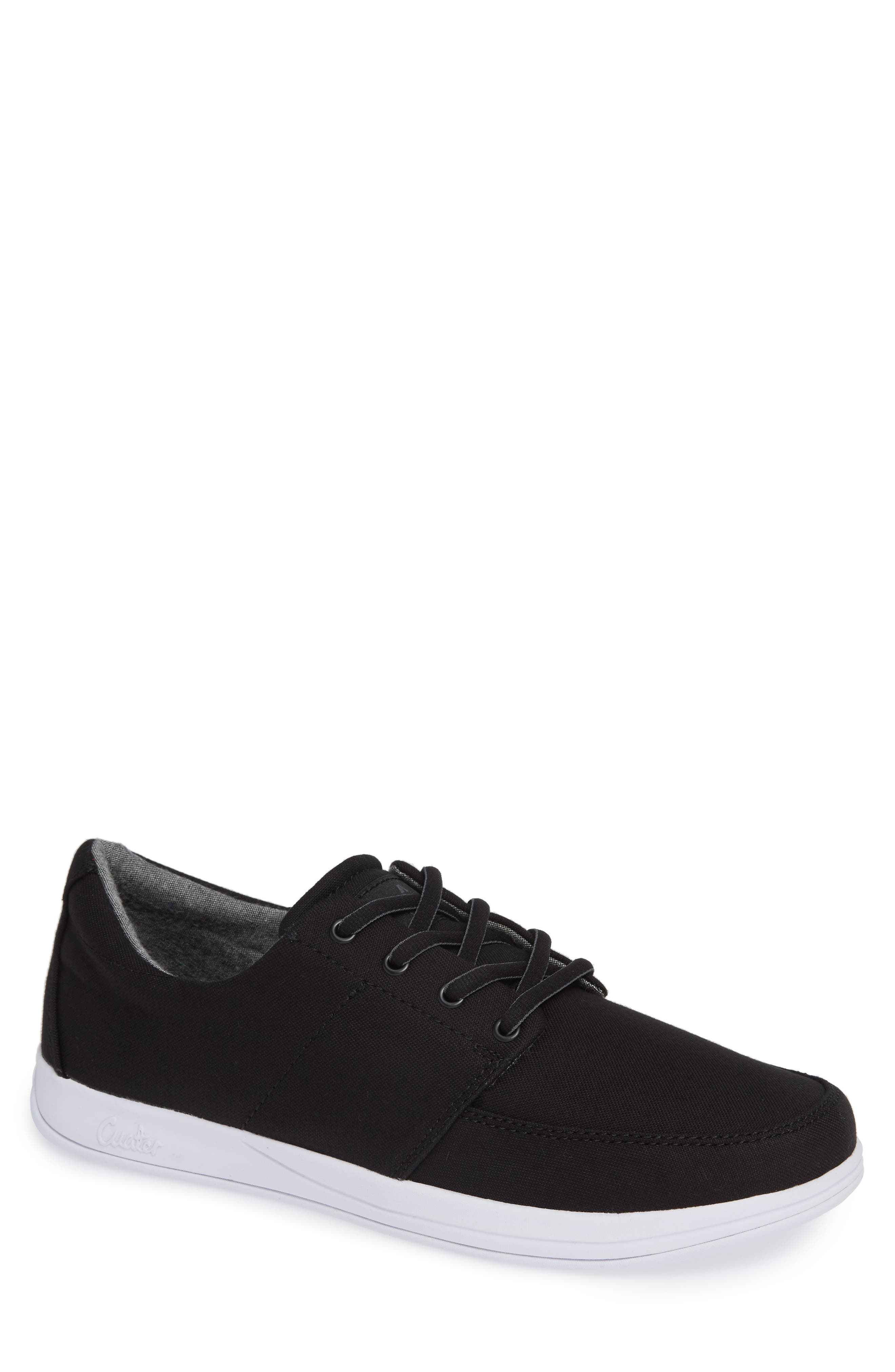 Cuater by Travis Mathew  Quincy Sneaker, Main, color, BLACK