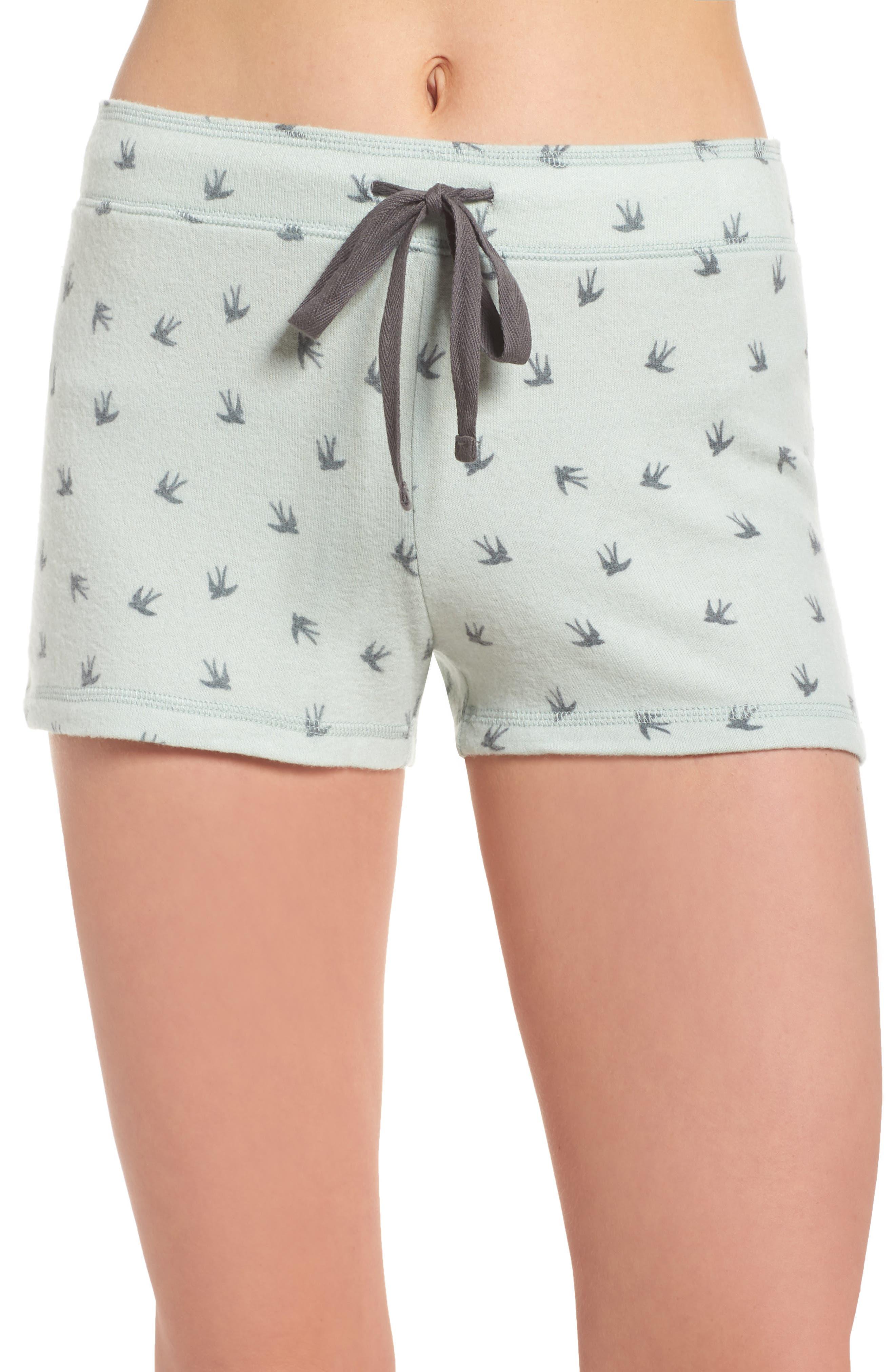 Peachy Pajama Shorts,                             Main thumbnail 2, color,