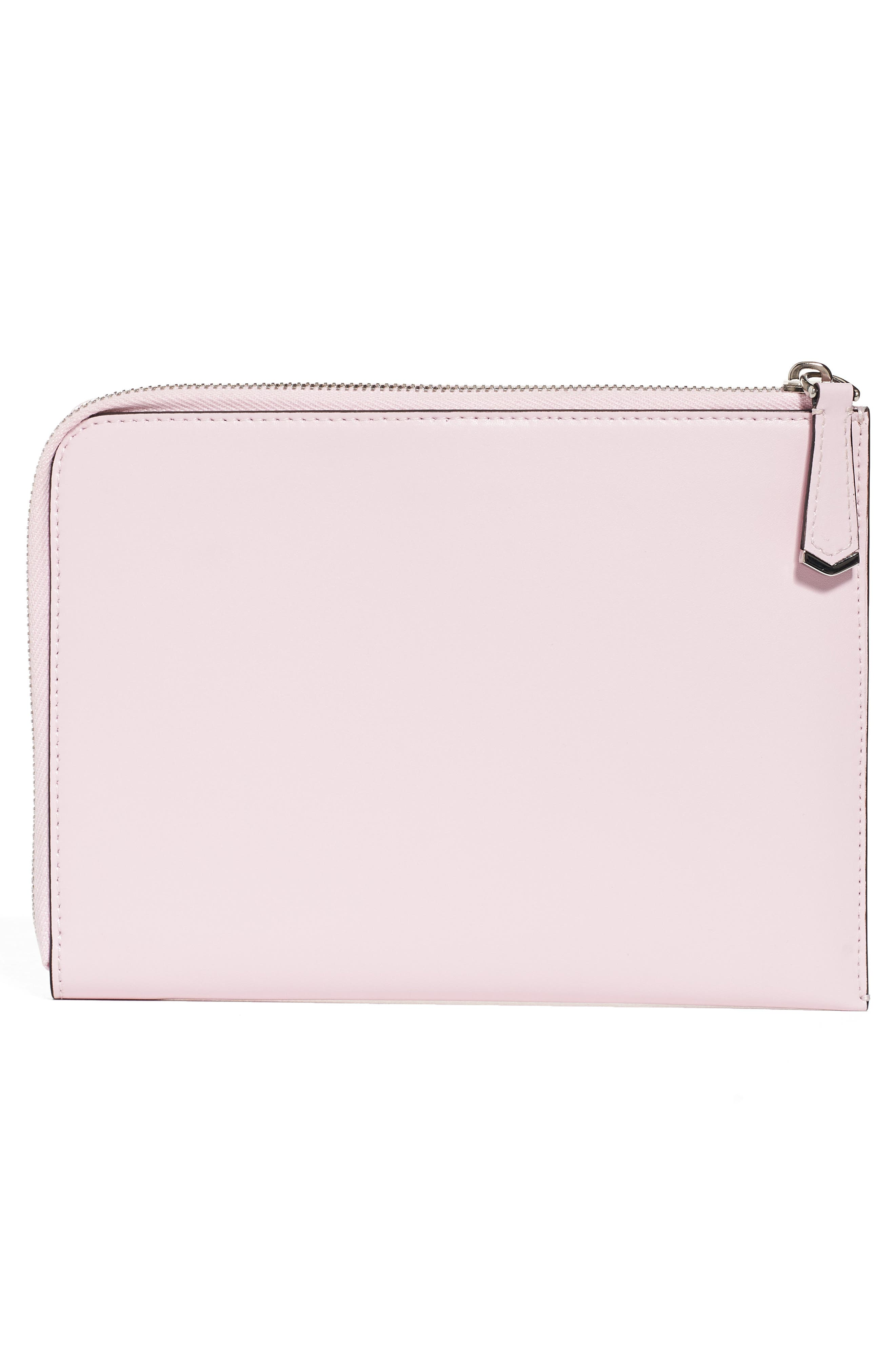Small Multistud Leather Pouch,                             Main thumbnail 1, color,                             687