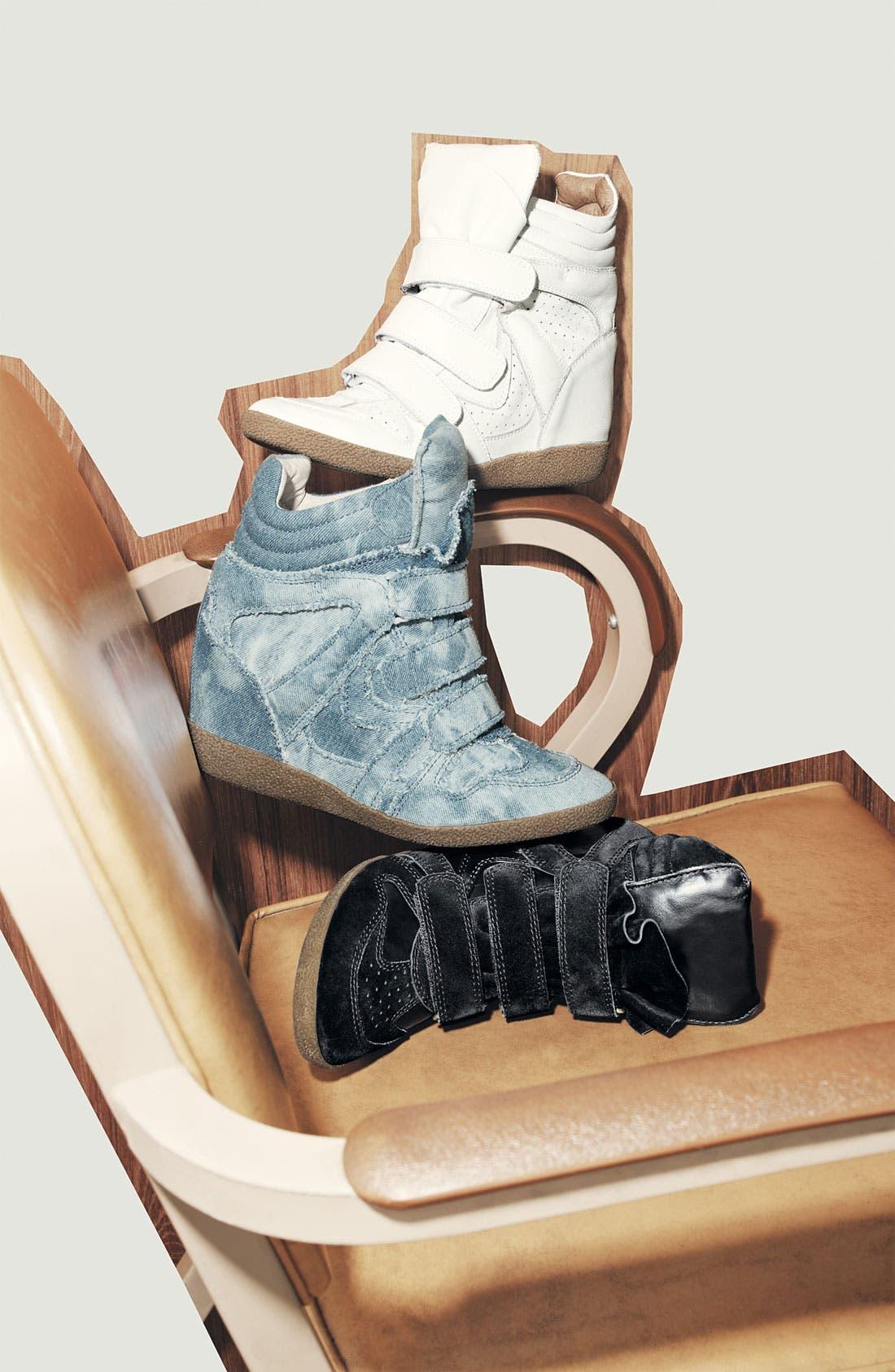 'Hilite-C' Wedge Sneaker,                             Alternate thumbnail 5, color,                             400