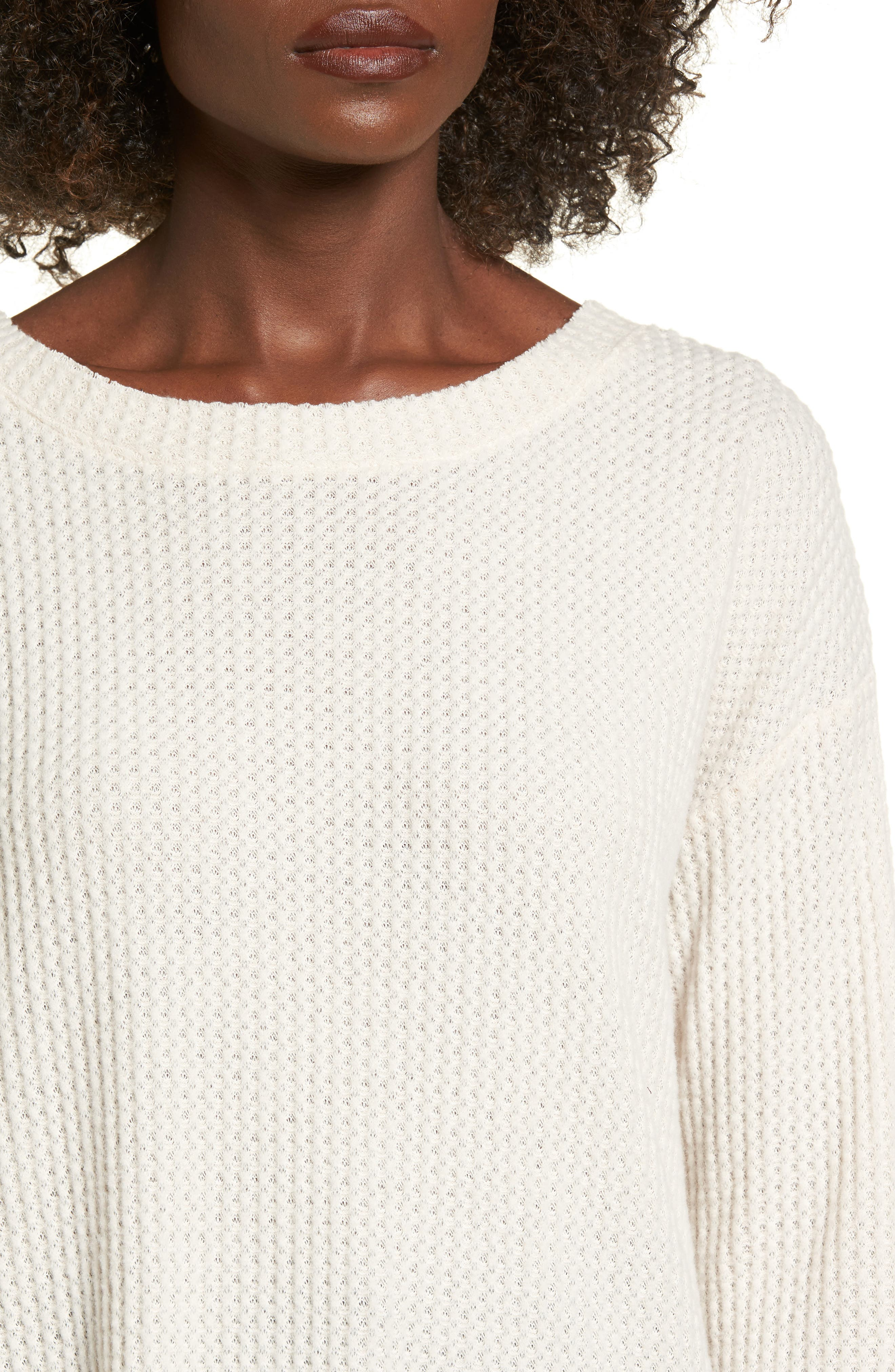 Waffle Knit Top,                             Alternate thumbnail 15, color,