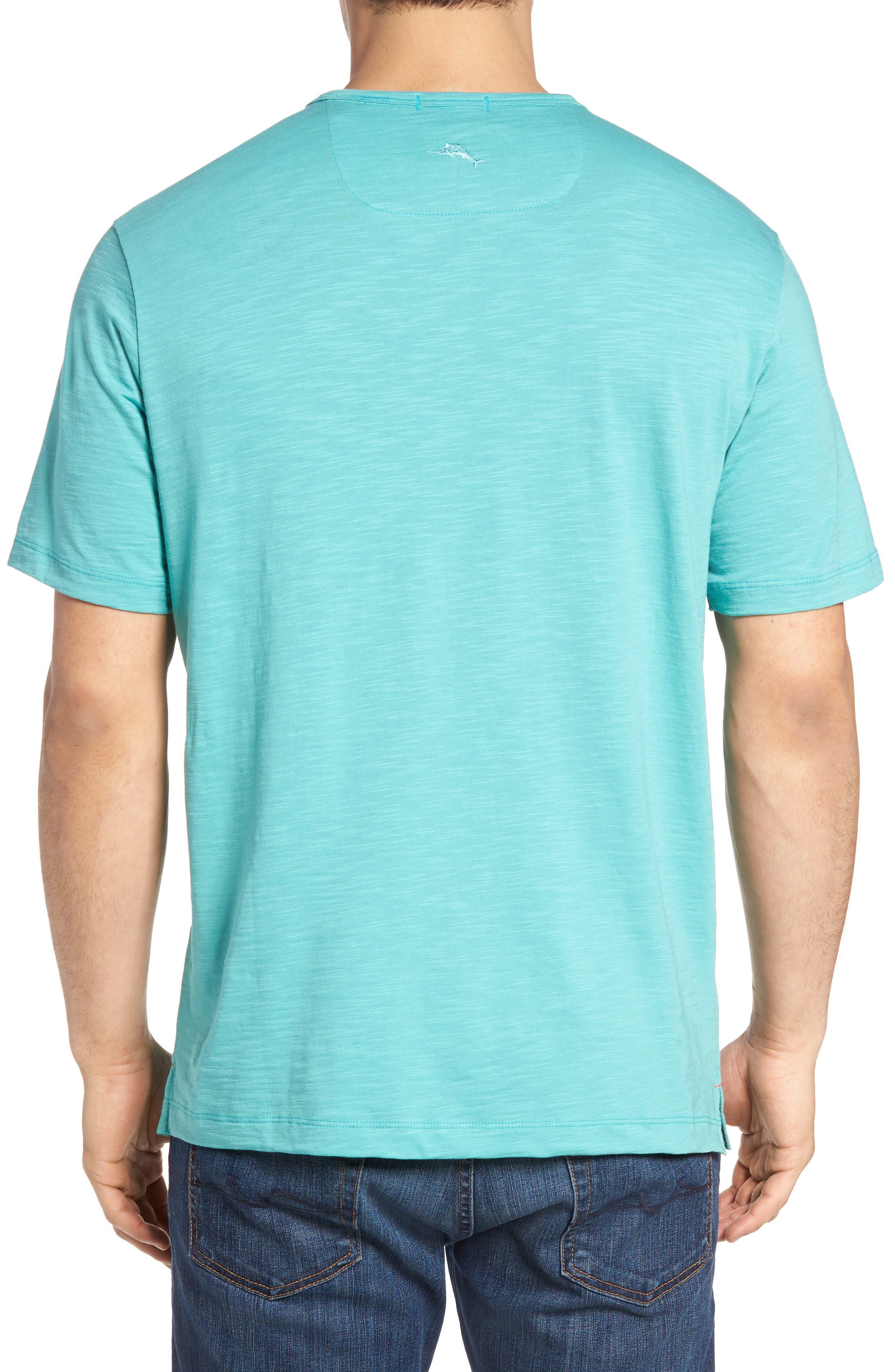 'Portside Player' Pima Cotton T-Shirt,                             Alternate thumbnail 28, color,