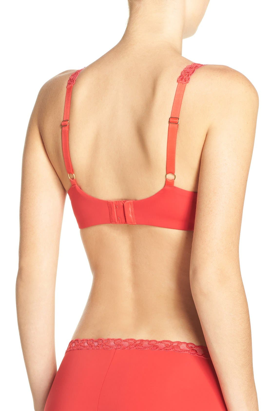 'Pure Luxe' Underwire T-Shirt Bra,                             Alternate thumbnail 60, color,