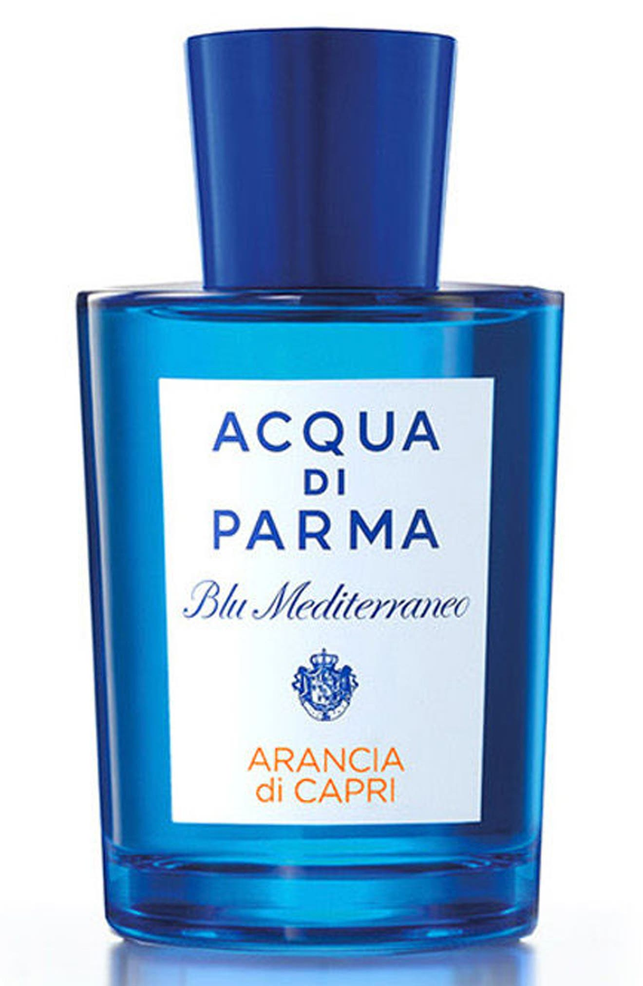 Blu Mediterraneo Arancia di Capri Eau de Toilette,                             Main thumbnail 1, color,                             NO COLOR