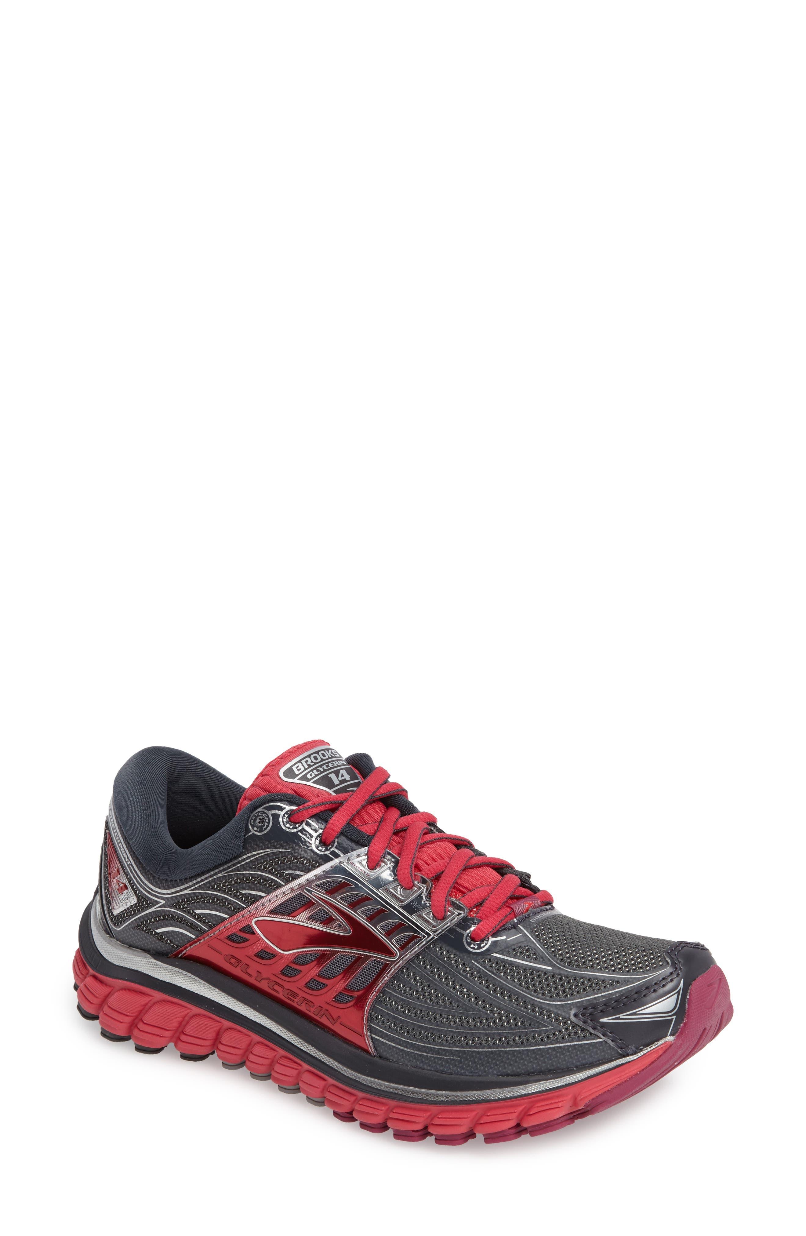 BROOKS,                             'Glycerin 14' Running Shoe,                             Main thumbnail 1, color,                             093