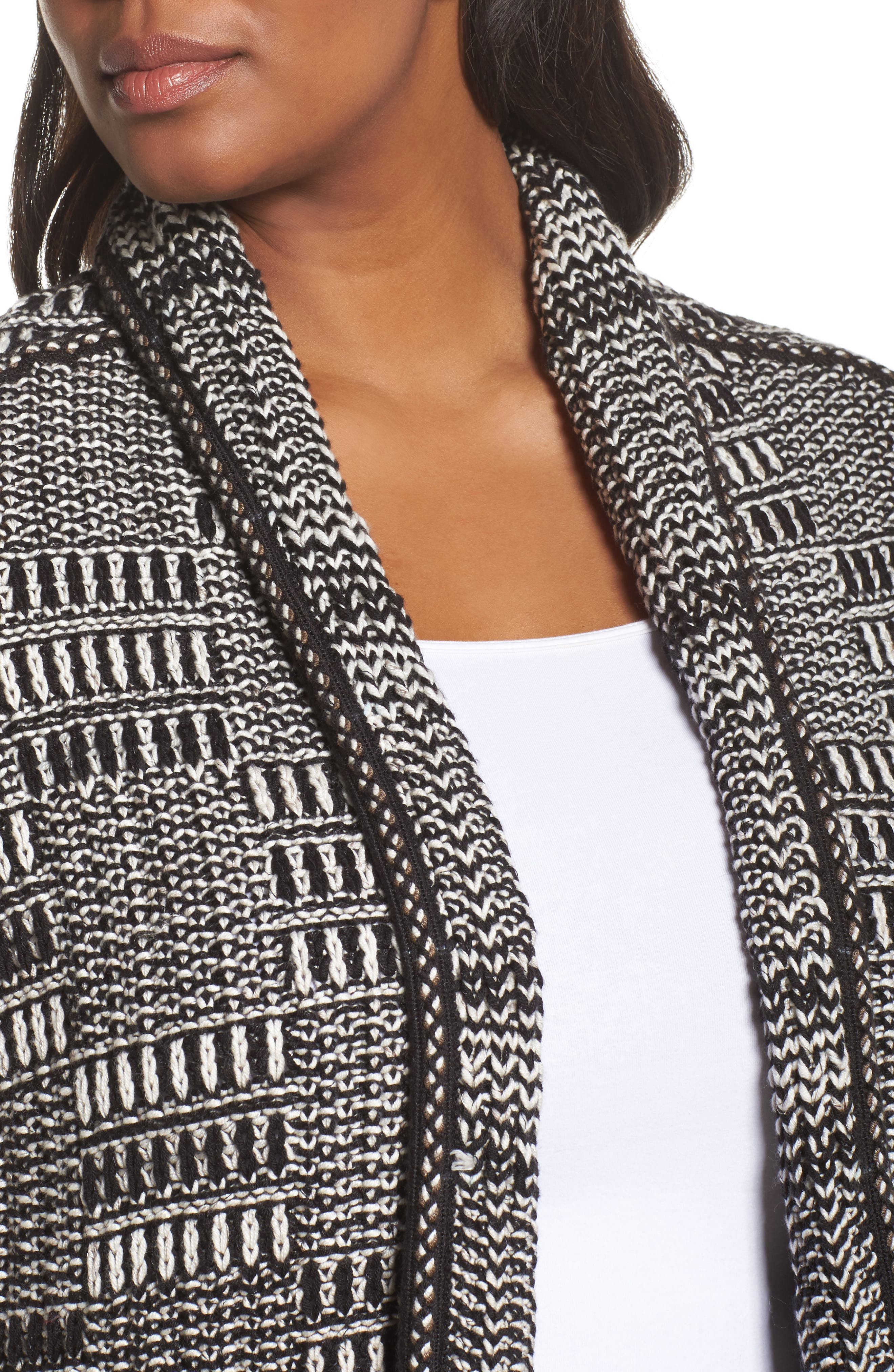 All the Lines Cardigan,                             Alternate thumbnail 4, color,                             010