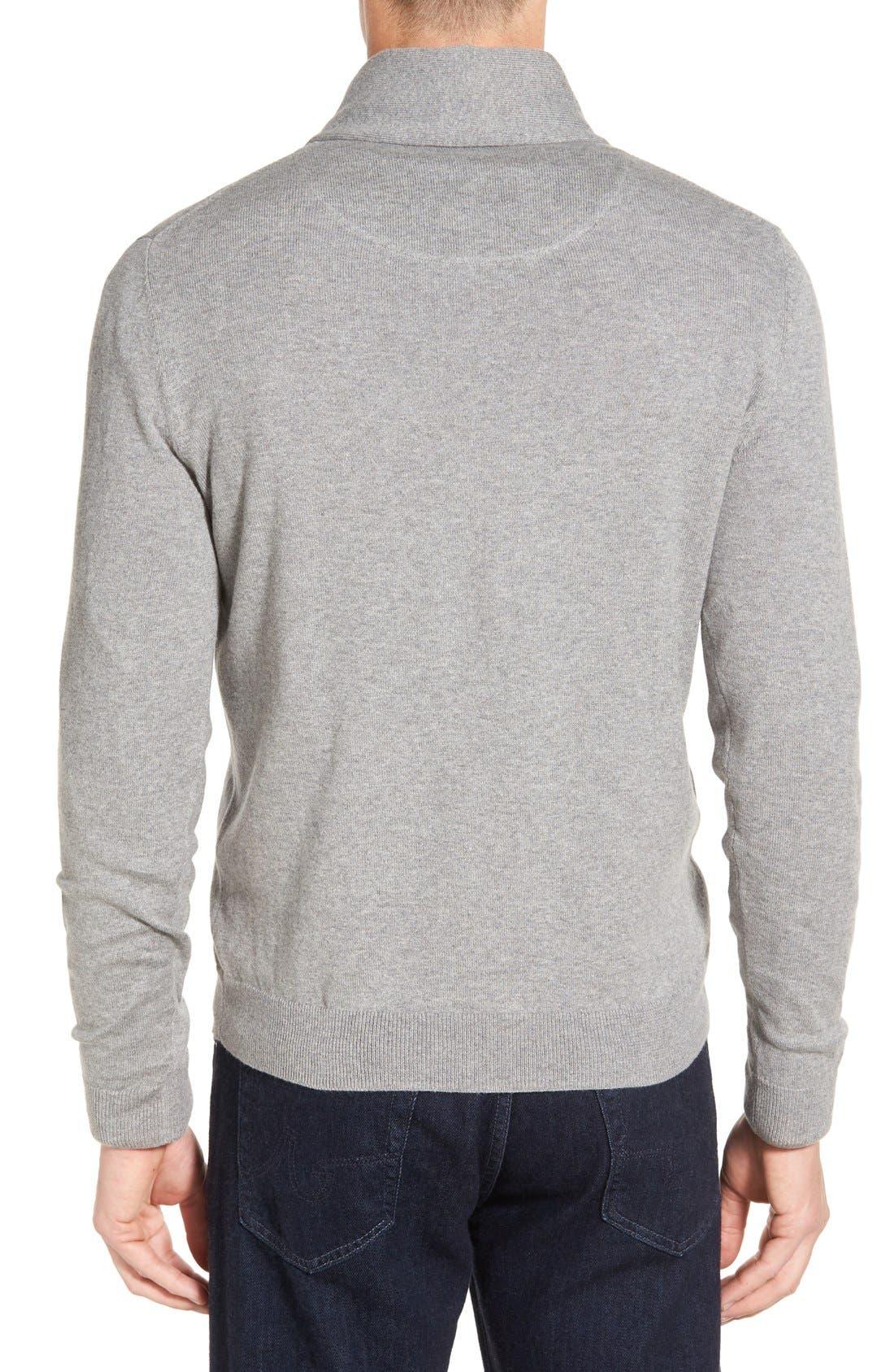 Men's Shop Shawl Collar Sweater,                             Alternate thumbnail 8, color,