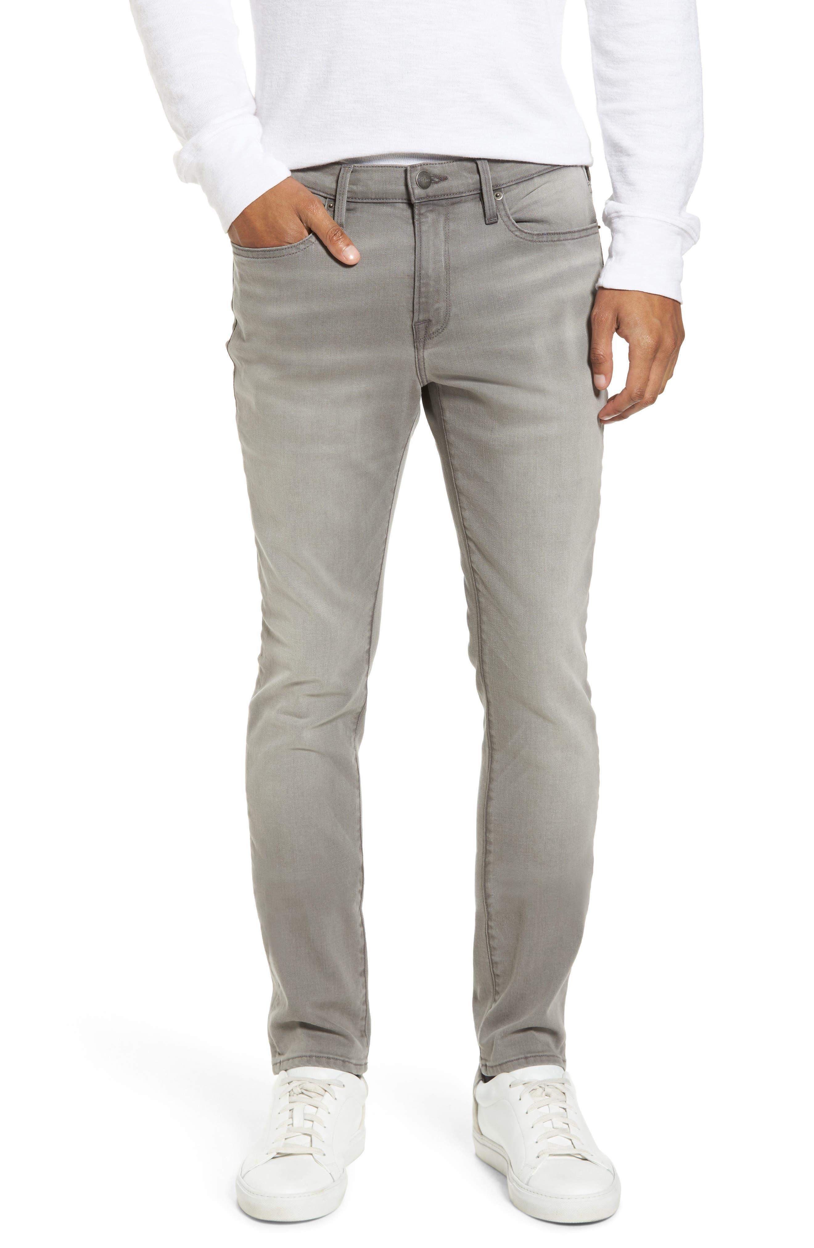 L'Homme Slim Fit Jeans,                             Main thumbnail 1, color,                             030