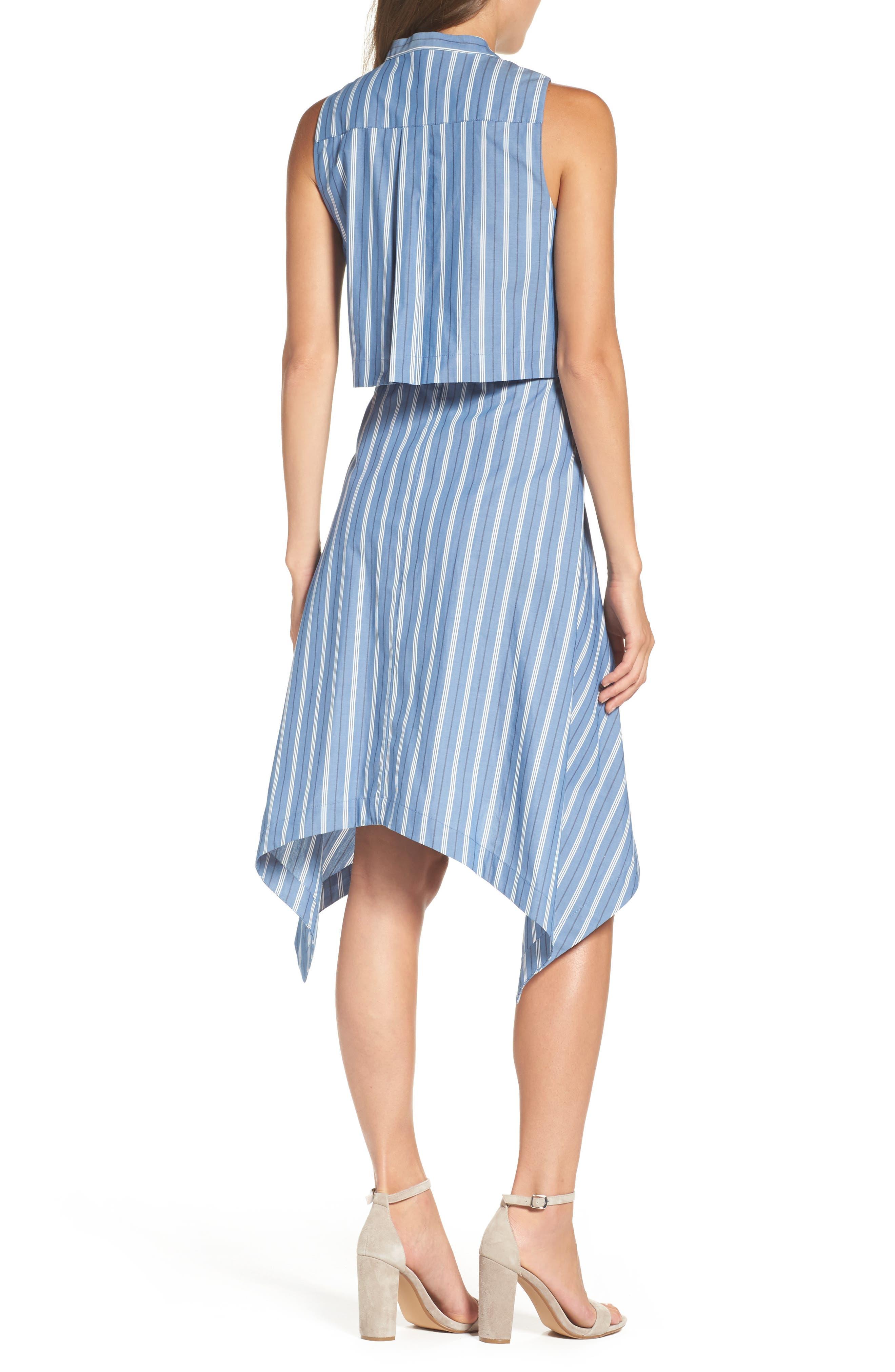City Sleeveless Dress,                             Alternate thumbnail 2, color,                             404