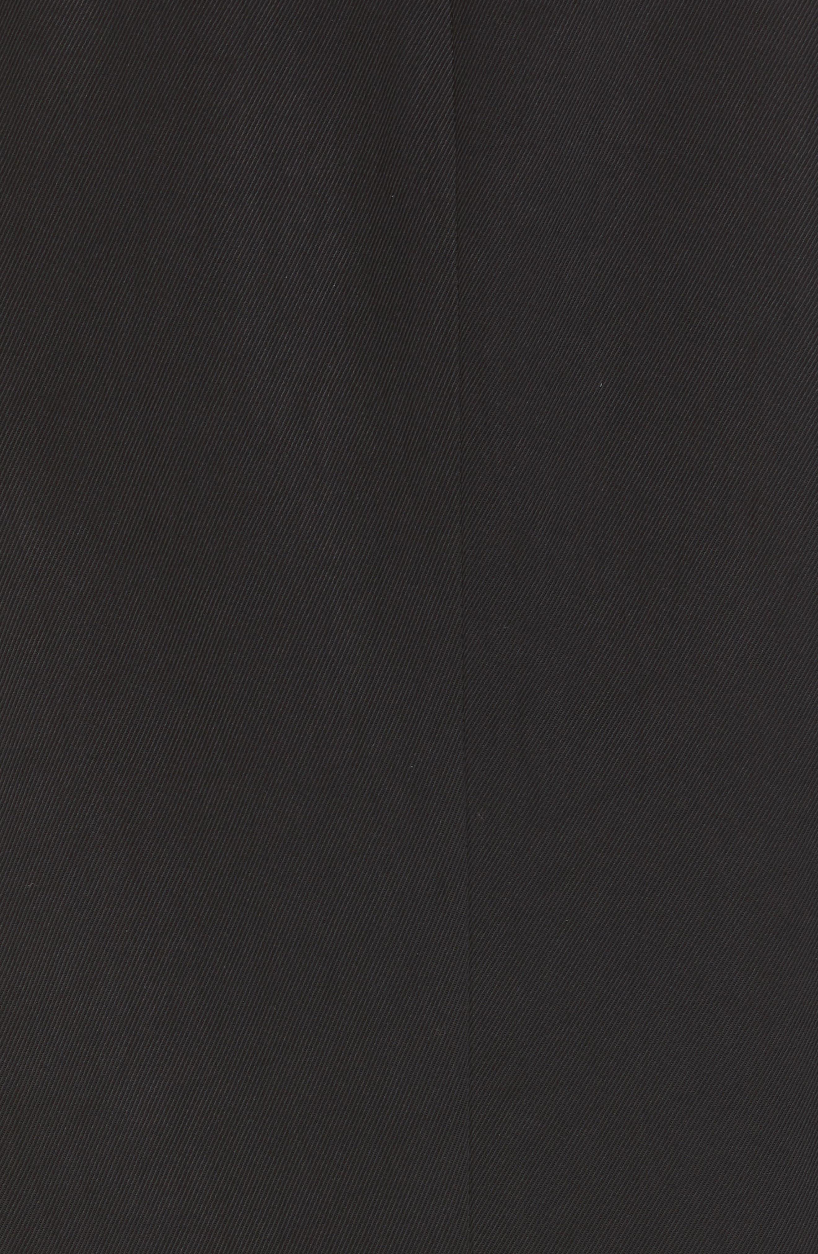 BOSS,                             Jaela Stretch Wool Suit Jacket,                             Alternate thumbnail 6, color,                             BLACK