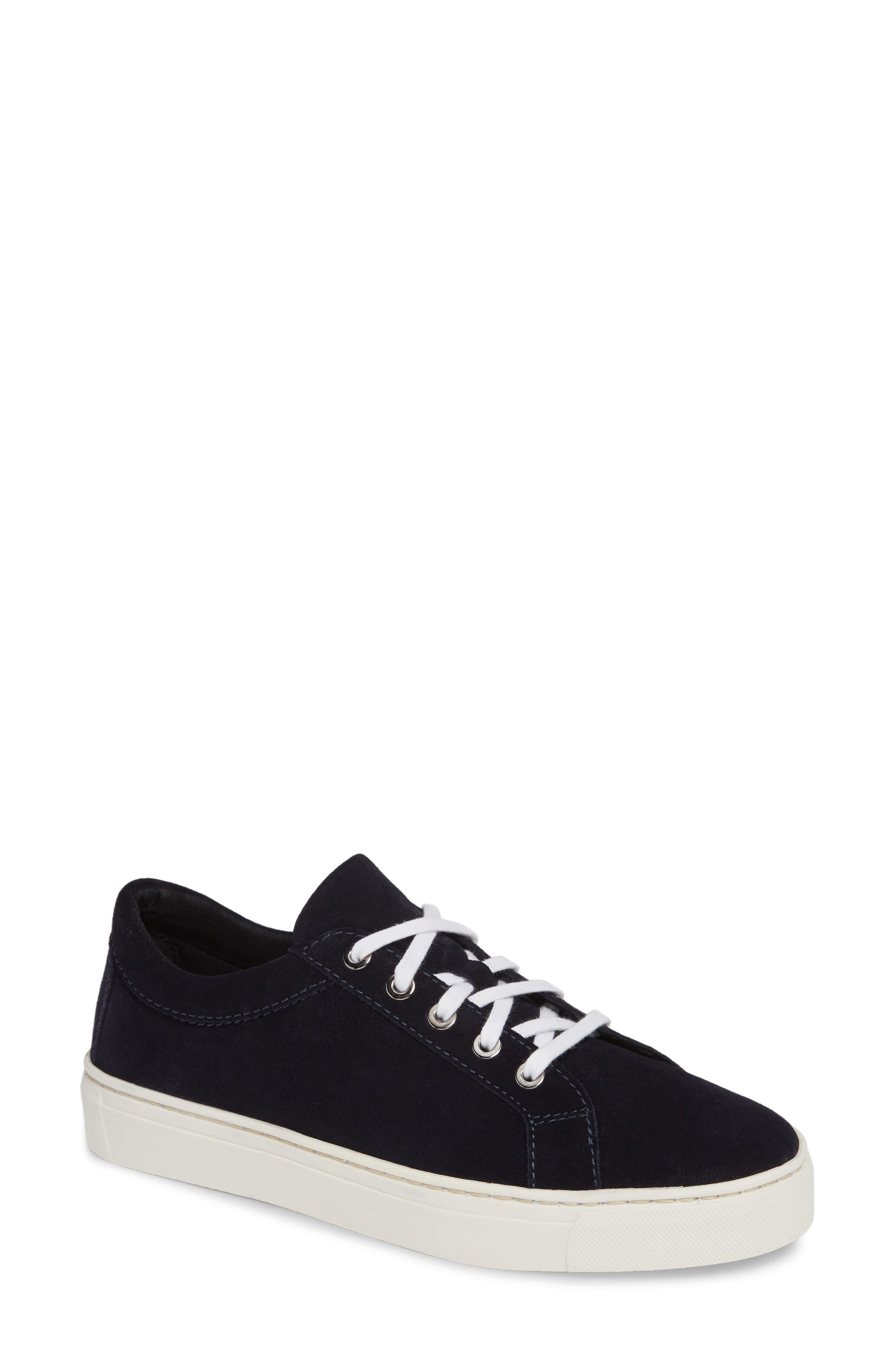 Sneak Away Sneaker, Main, color, BLUE SUEDE
