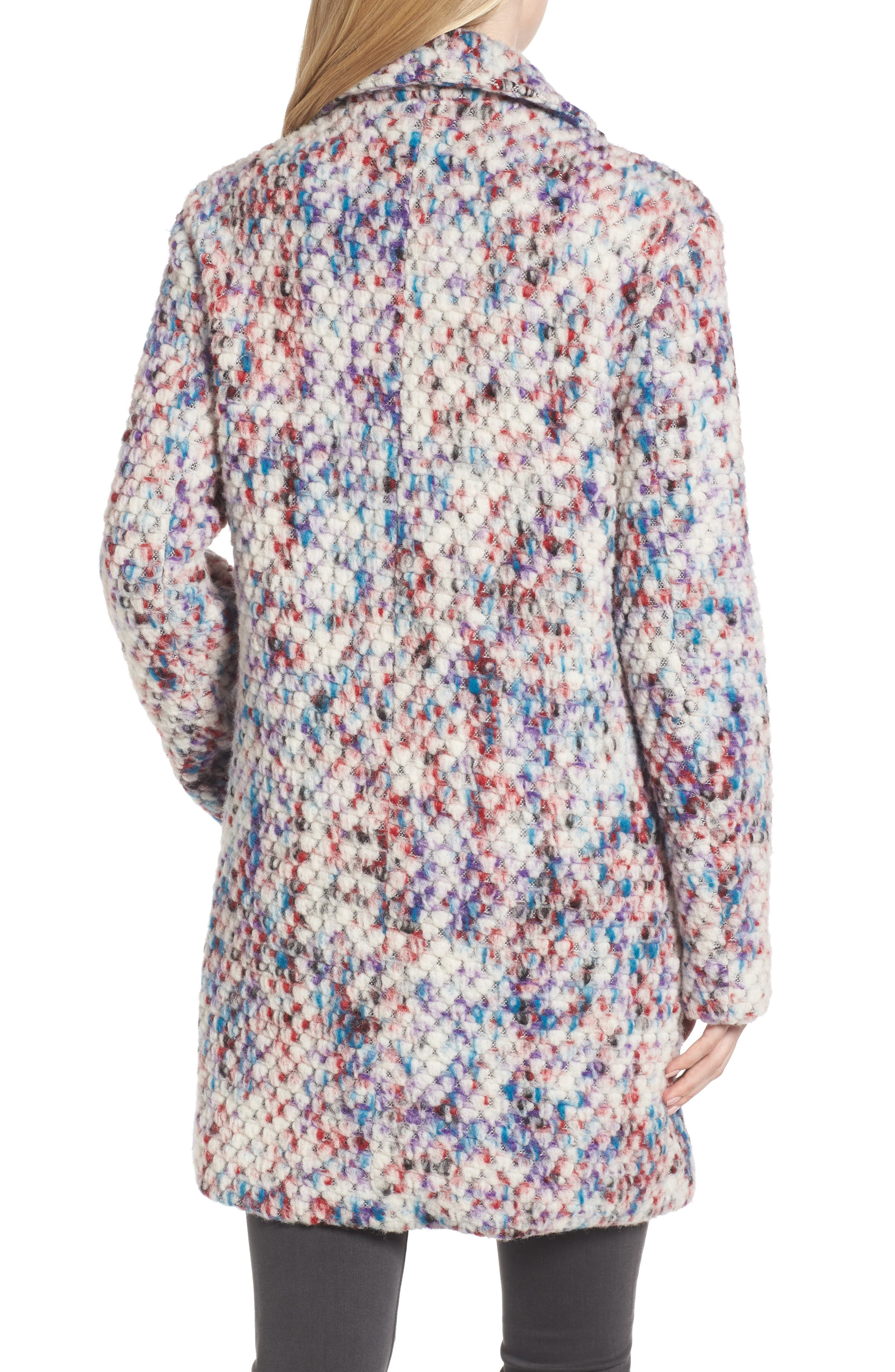 Confetti Wool Blend Coat,                             Alternate thumbnail 2, color,                             560
