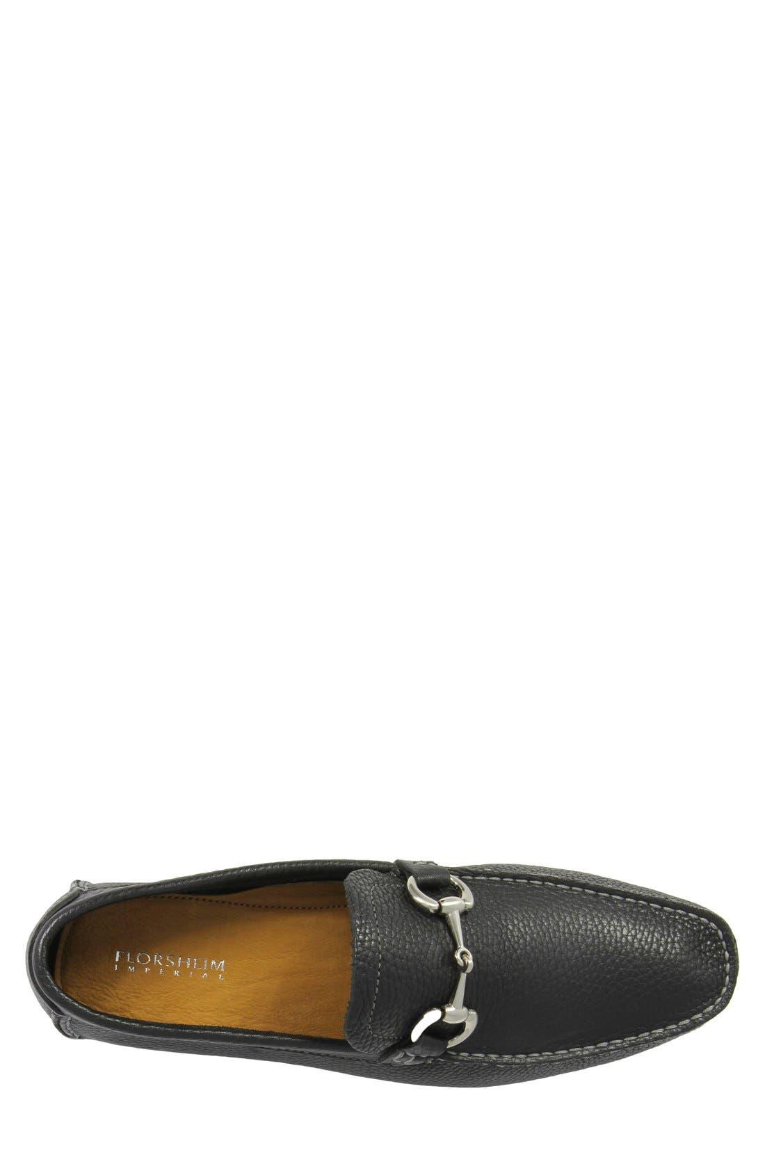 'Danforth' Driving Shoe,                             Alternate thumbnail 3, color,                             BLACK LEATHER