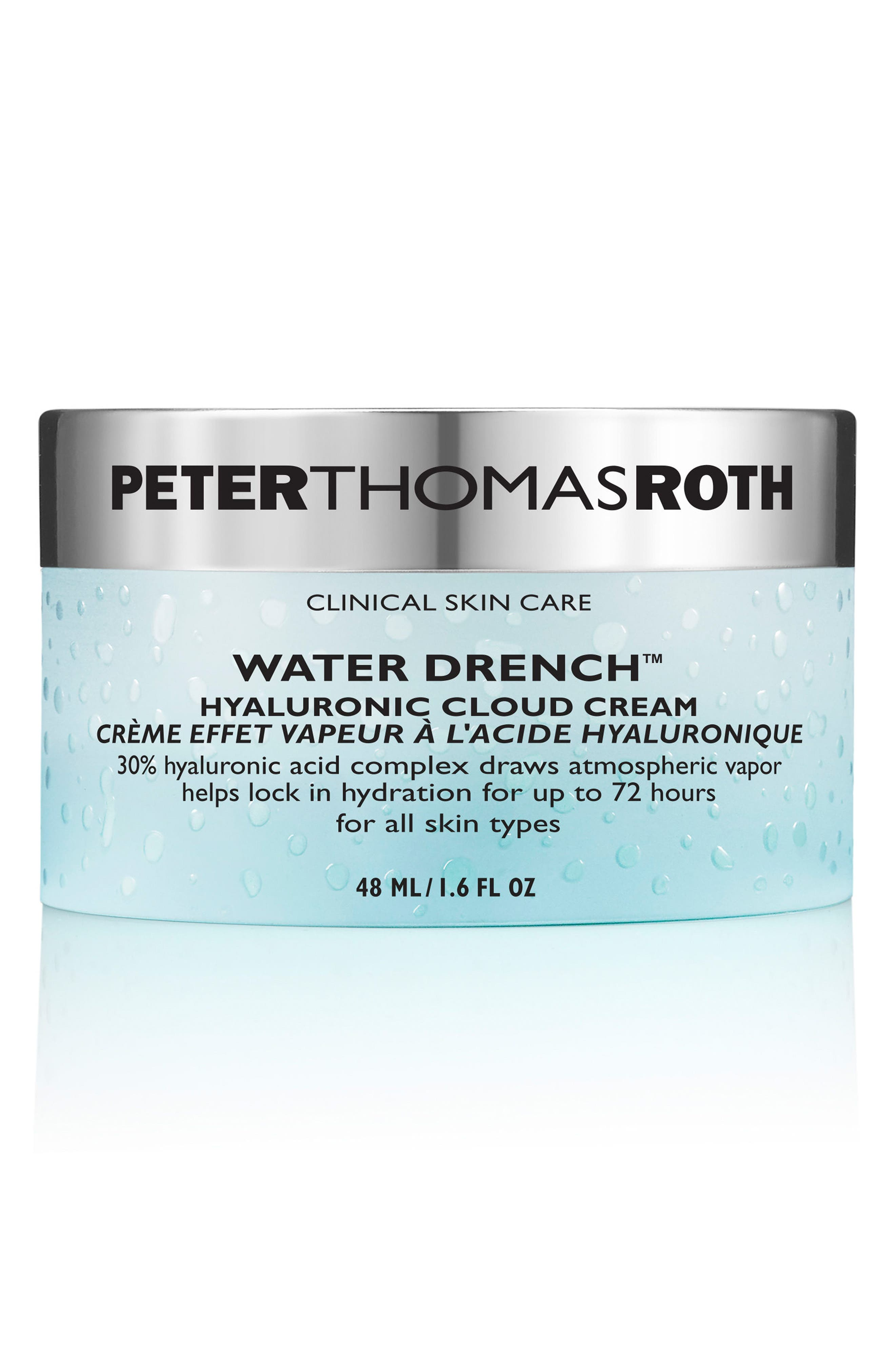 Water Drench Hyaluronic Acid Cloud Cream,                             Main thumbnail 1, color,                             NO COLOR