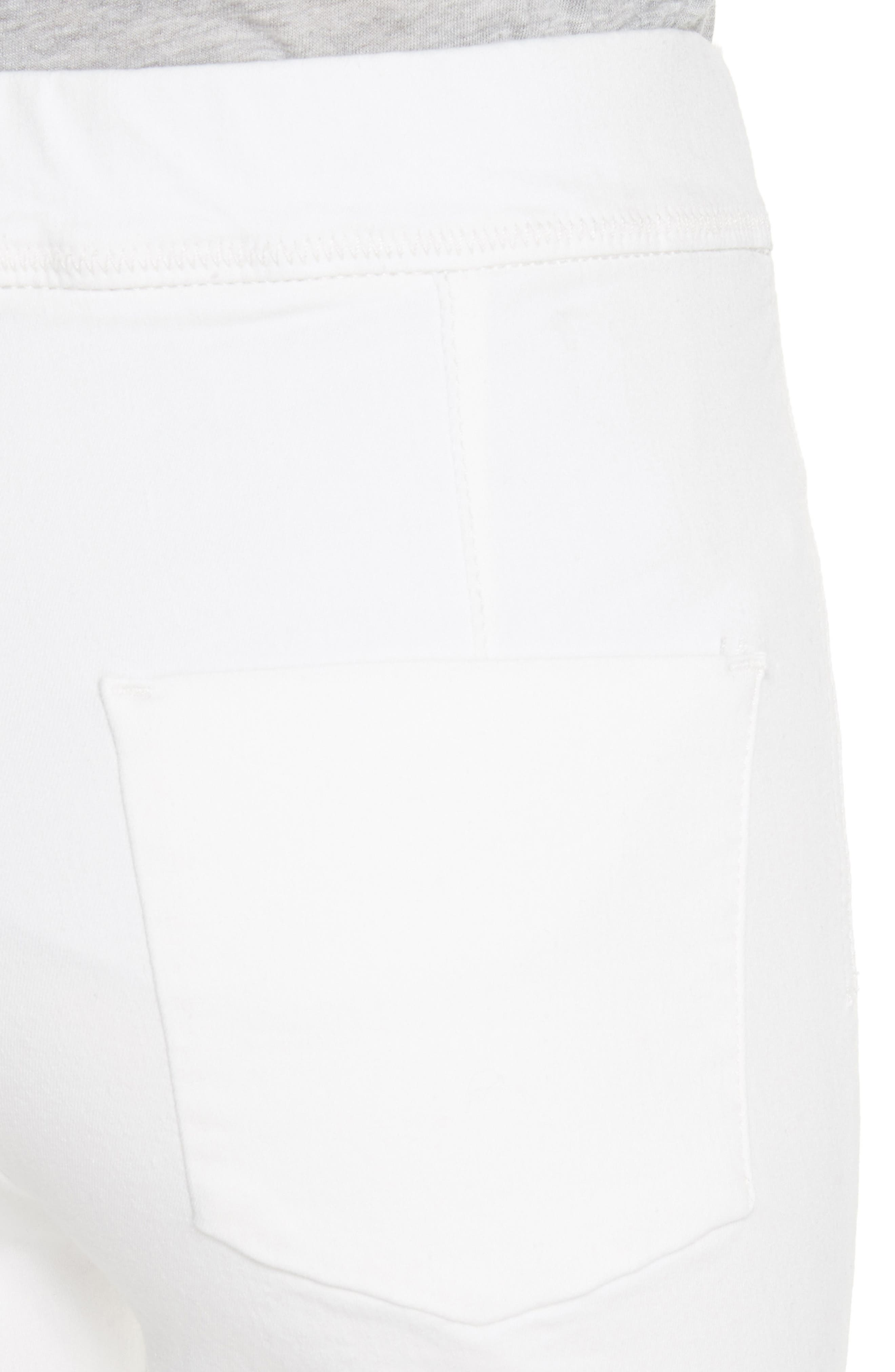 We the Free by Free People Easy Goes It Denim Leggings,                             Alternate thumbnail 4, color,                             WHITE