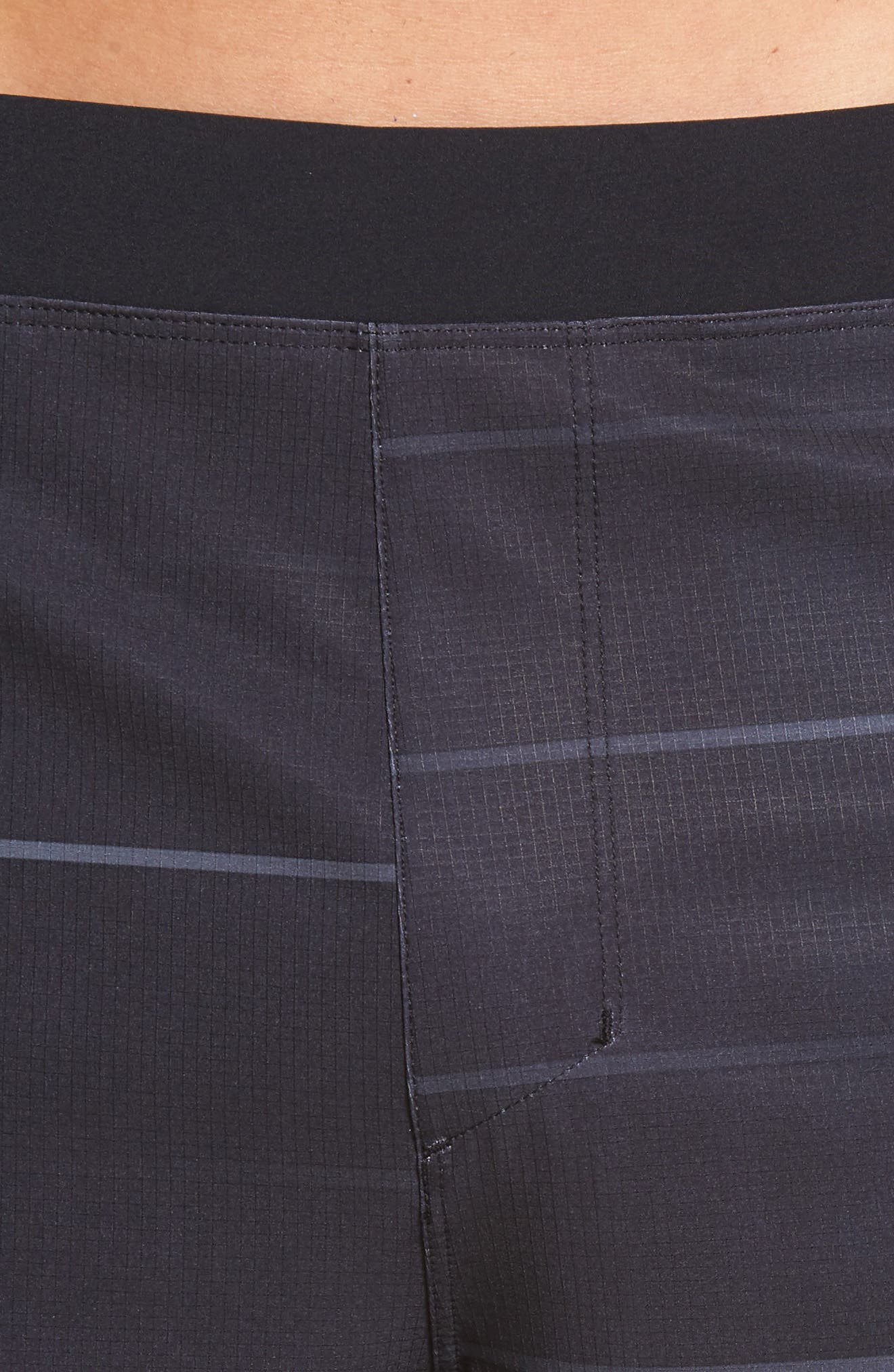 Alpha Trainer Stripe Shorts,                             Alternate thumbnail 4, color,                             010