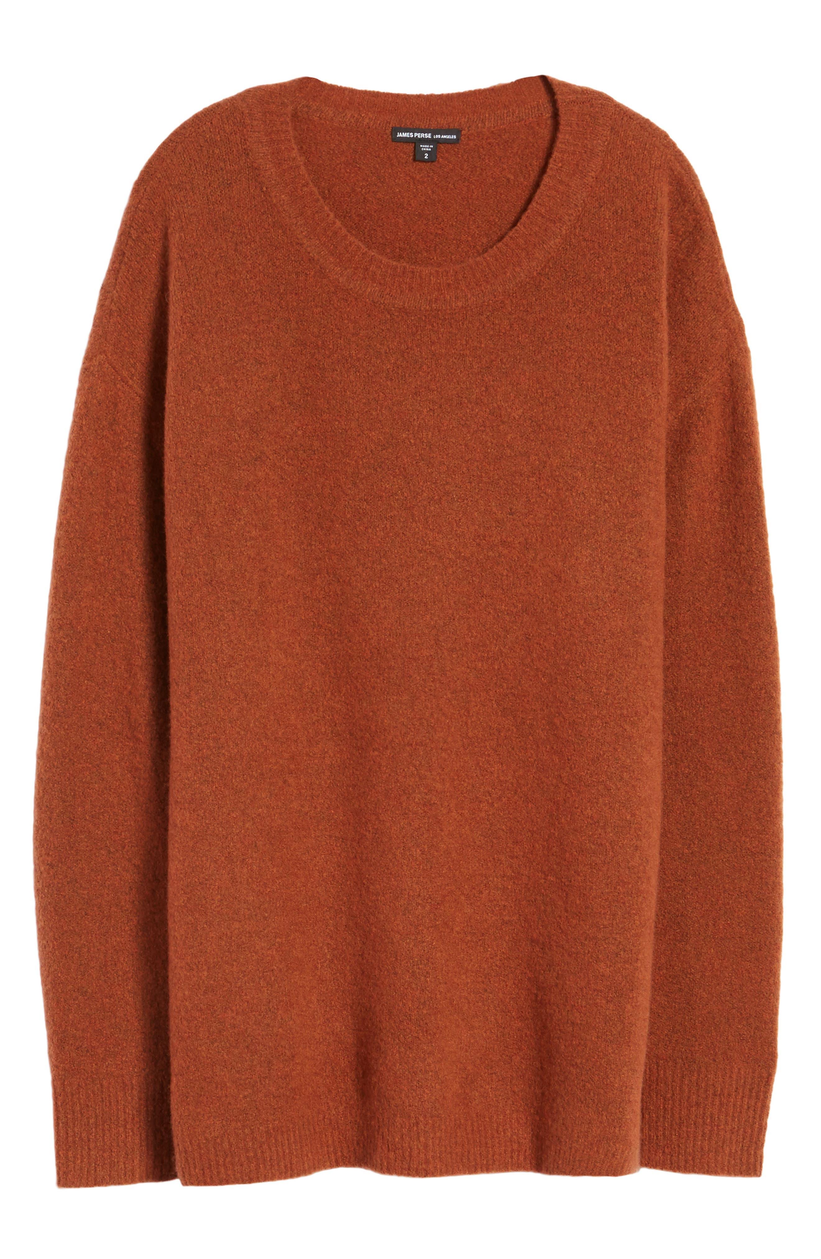 Oversize Cashmere Sweater,                             Alternate thumbnail 6, color,                             806