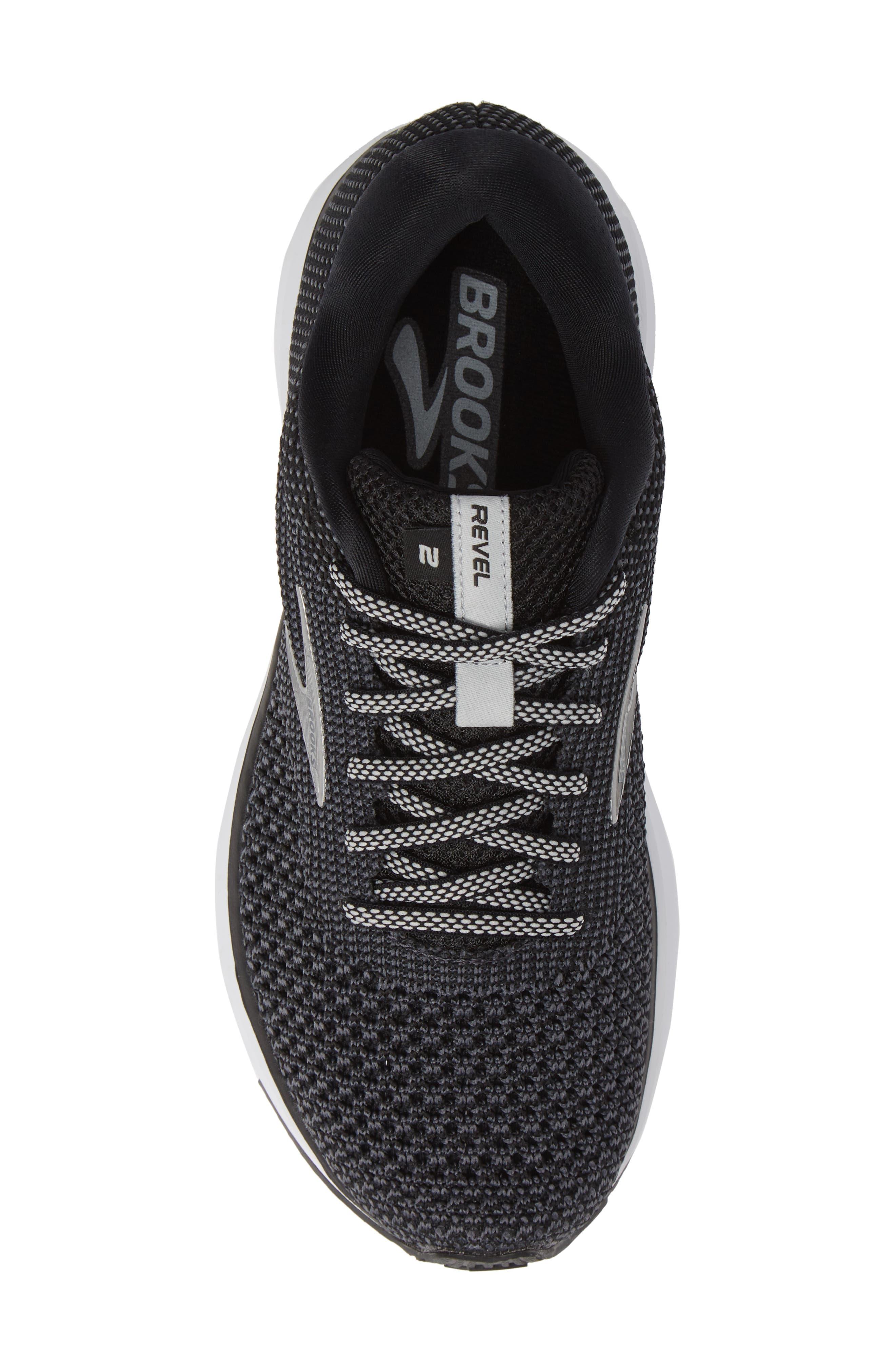 Revel 2 Running Shoe,                             Alternate thumbnail 5, color,                             BLACK/ GREY/ GREY