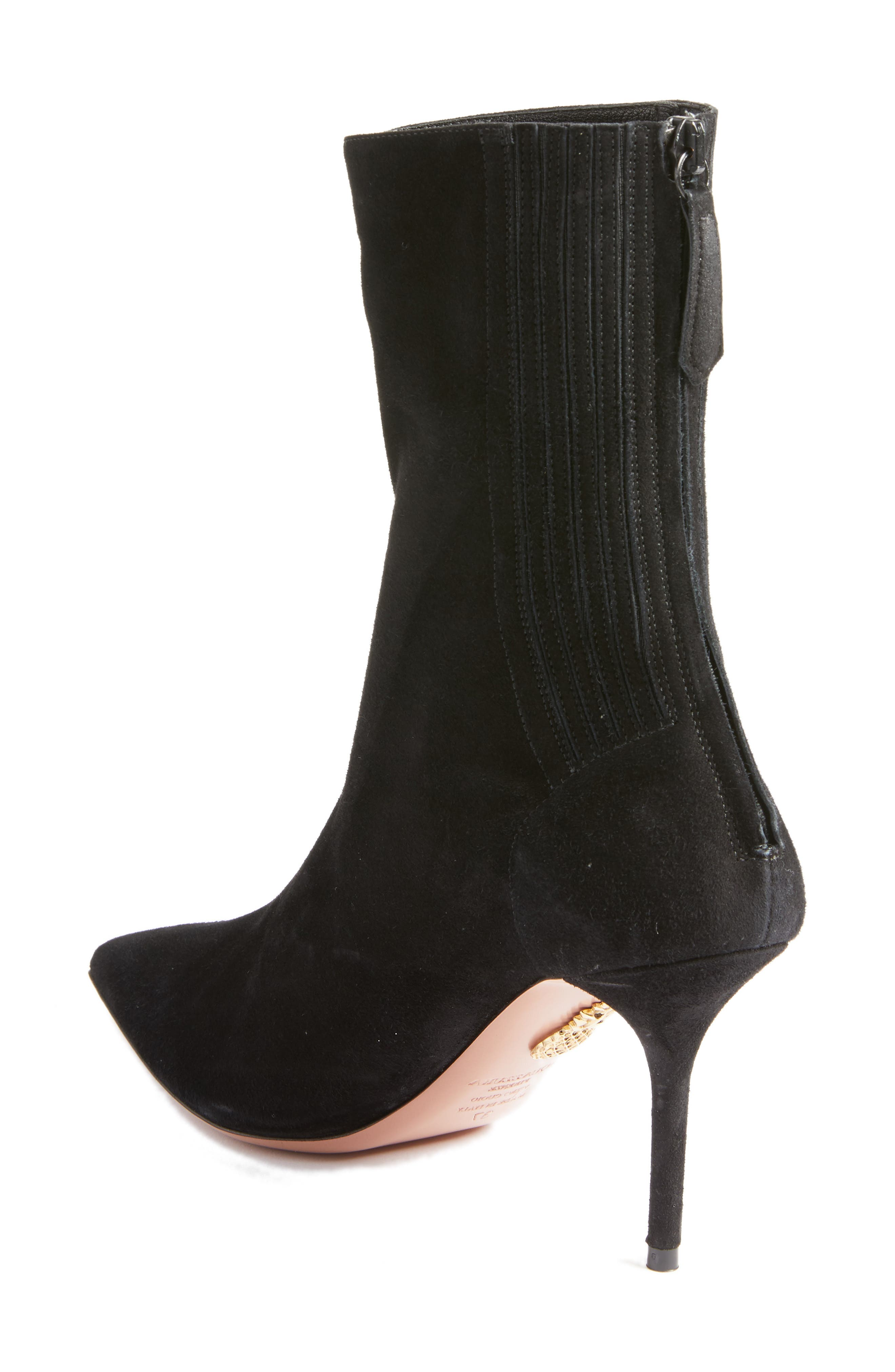 Saint Honore Pointy Toe Bootie,                             Alternate thumbnail 2, color,                             001