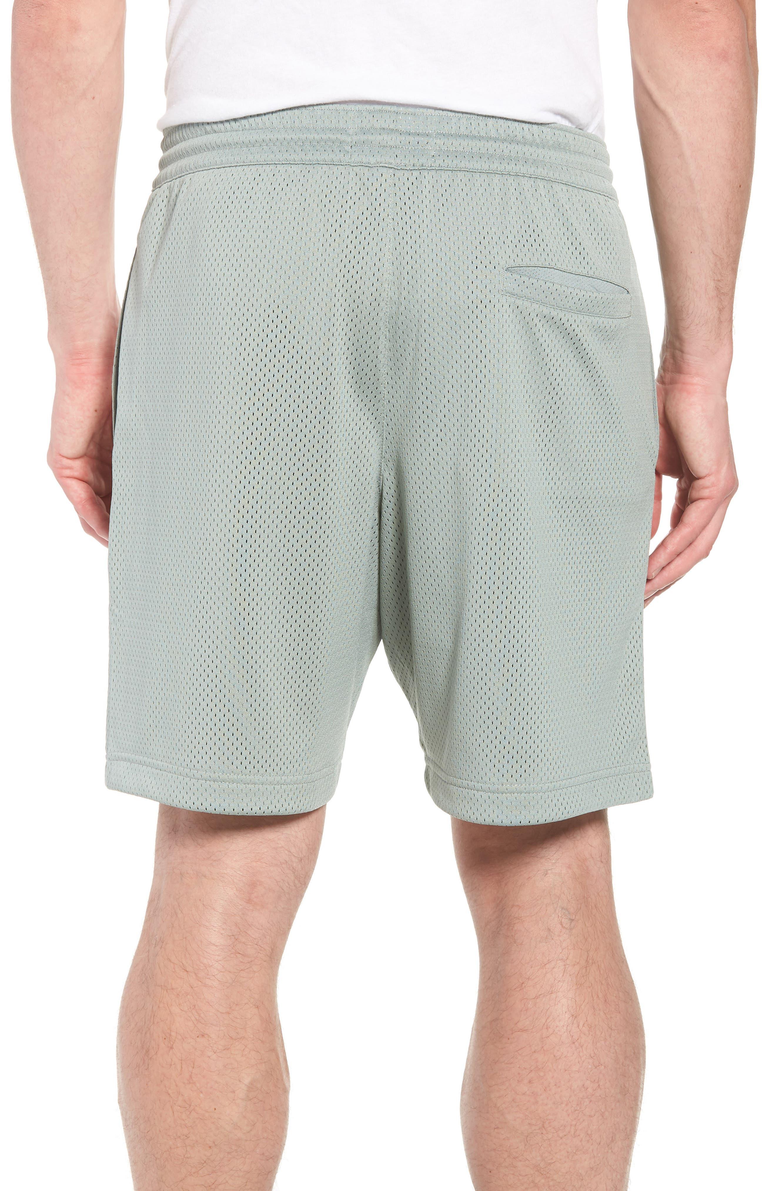 Nike Jumpman Air Mesh Shorts,                             Alternate thumbnail 2, color,                             MICA GREEN