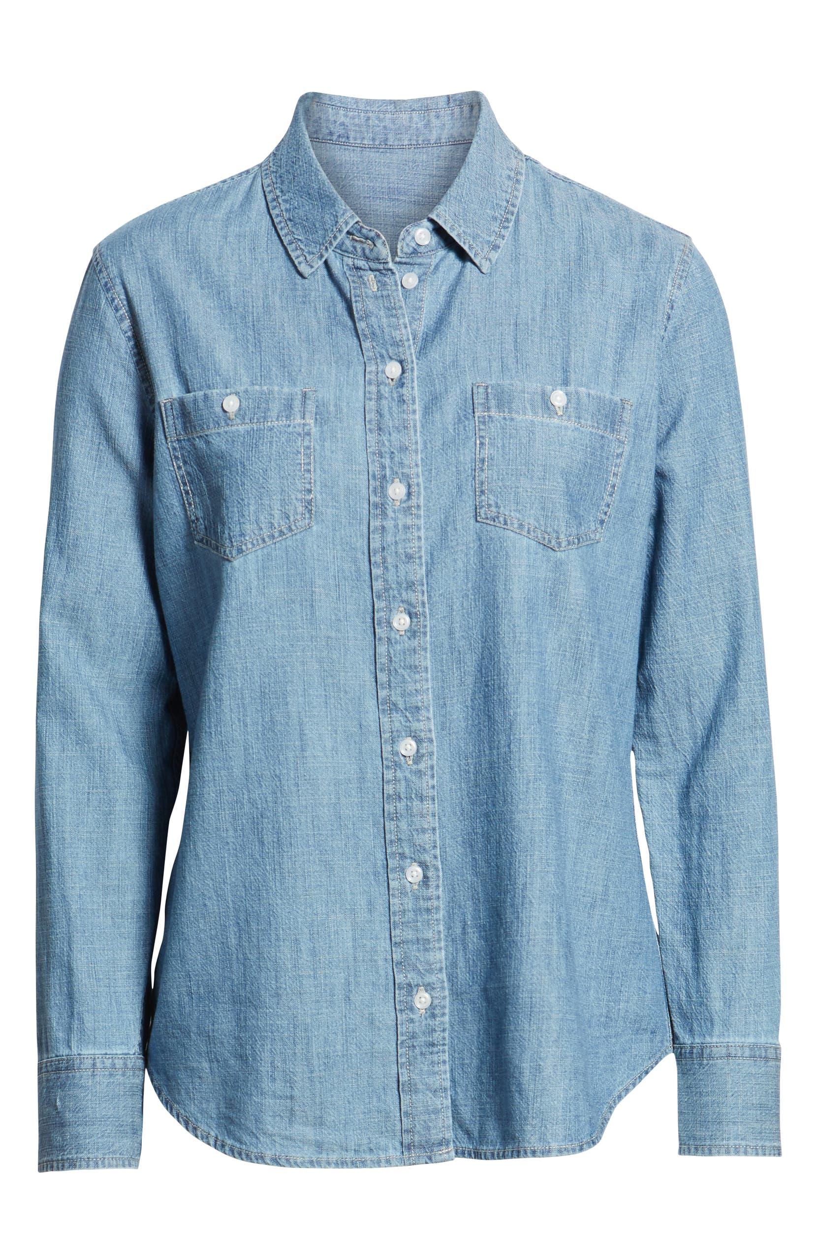 4000288bb3e 1901 Classic Chambray Shirt (Regular   Petite)