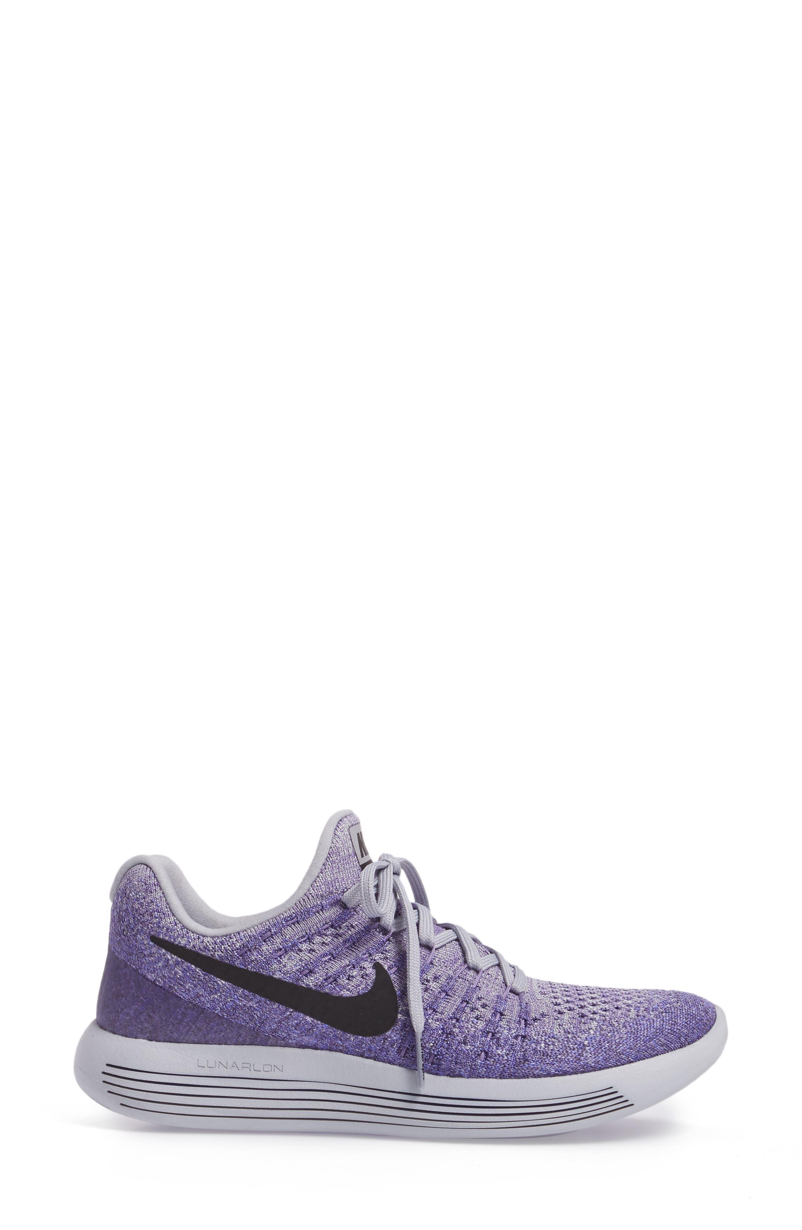 LunarEpic Low Flyknit 2 Running Shoe,                             Alternate thumbnail 58, color,
