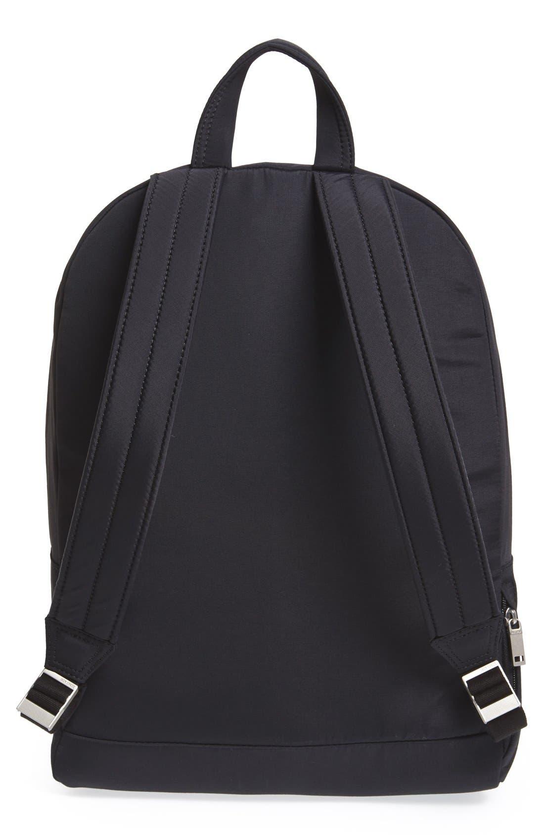JACK SPADE,                             'Tech' Nylon Backpack,                             Alternate thumbnail 4, color,                             001