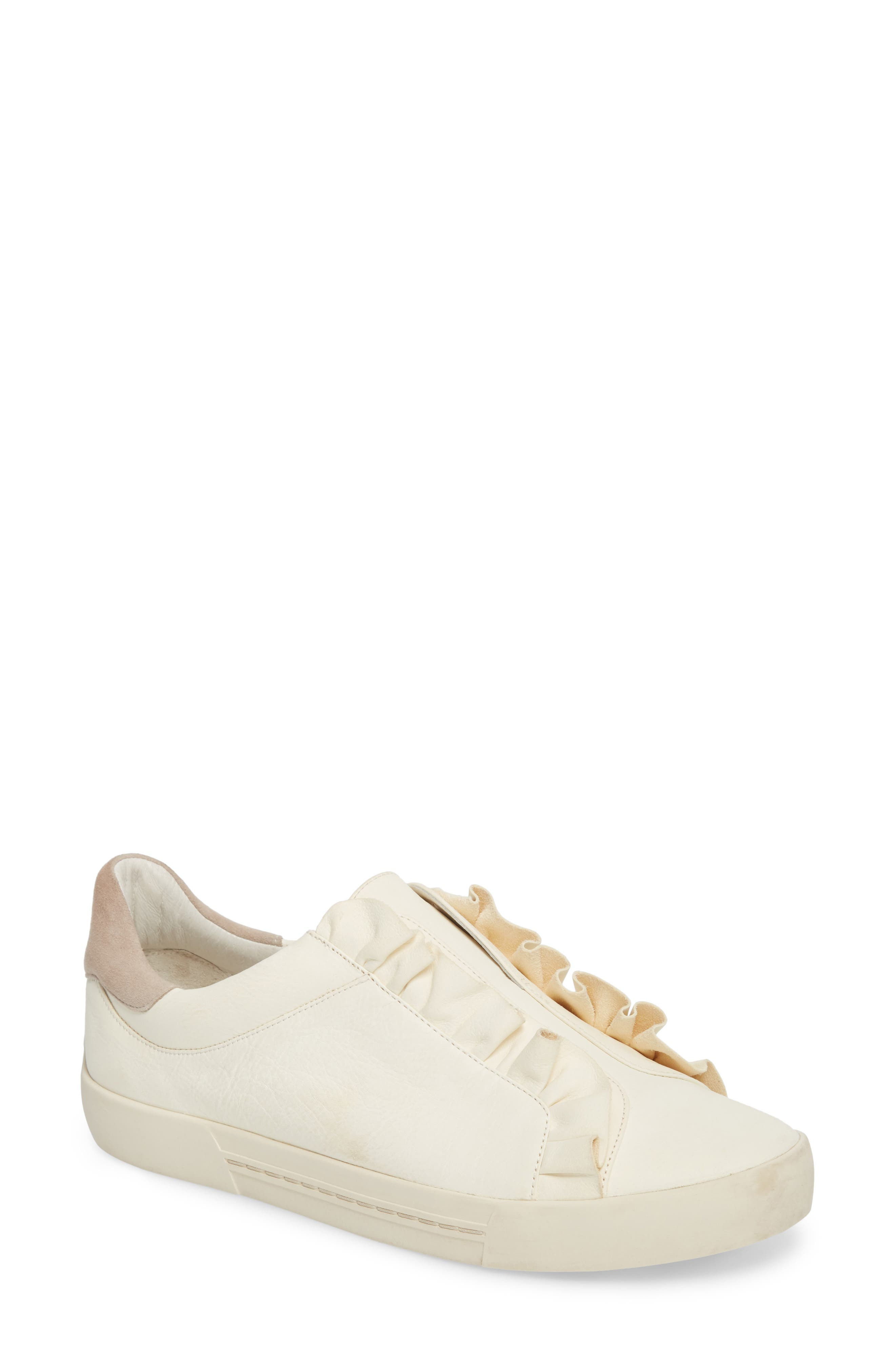 Daw Ruffle Slip-On Sneaker,                         Main,                         color, 900