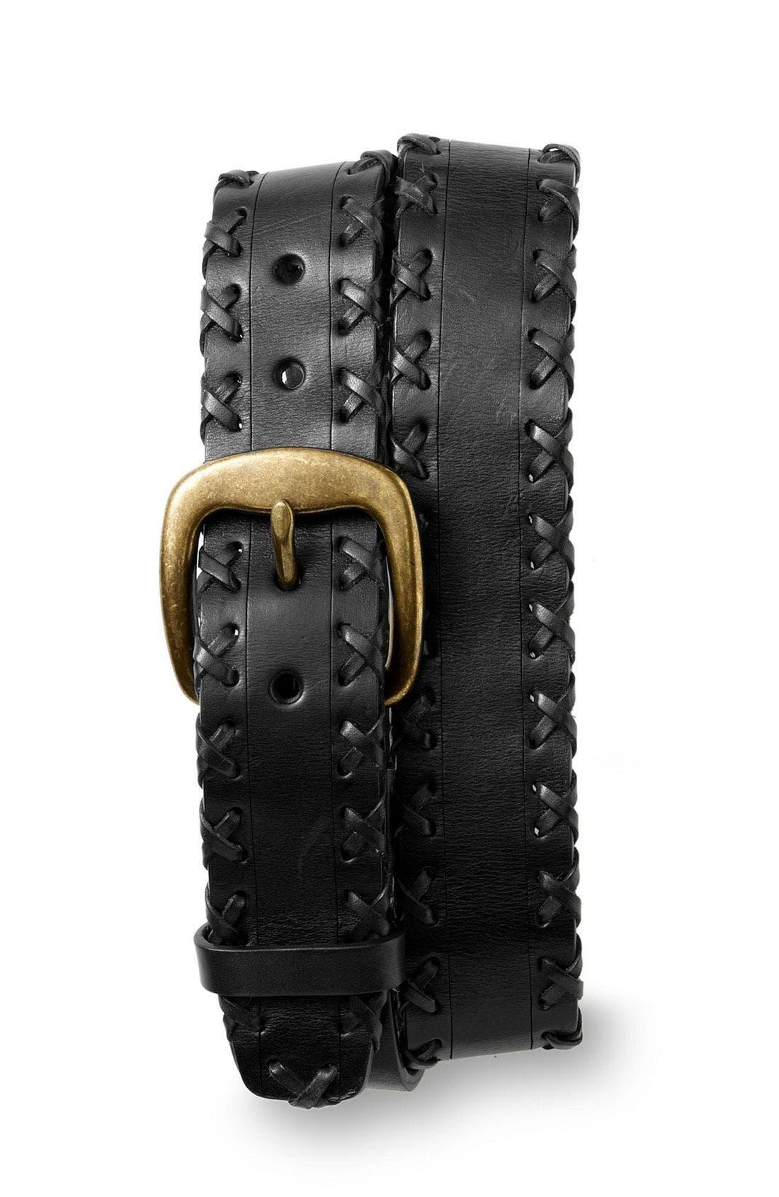 'Eastwood' Belt, Main, color, BLK