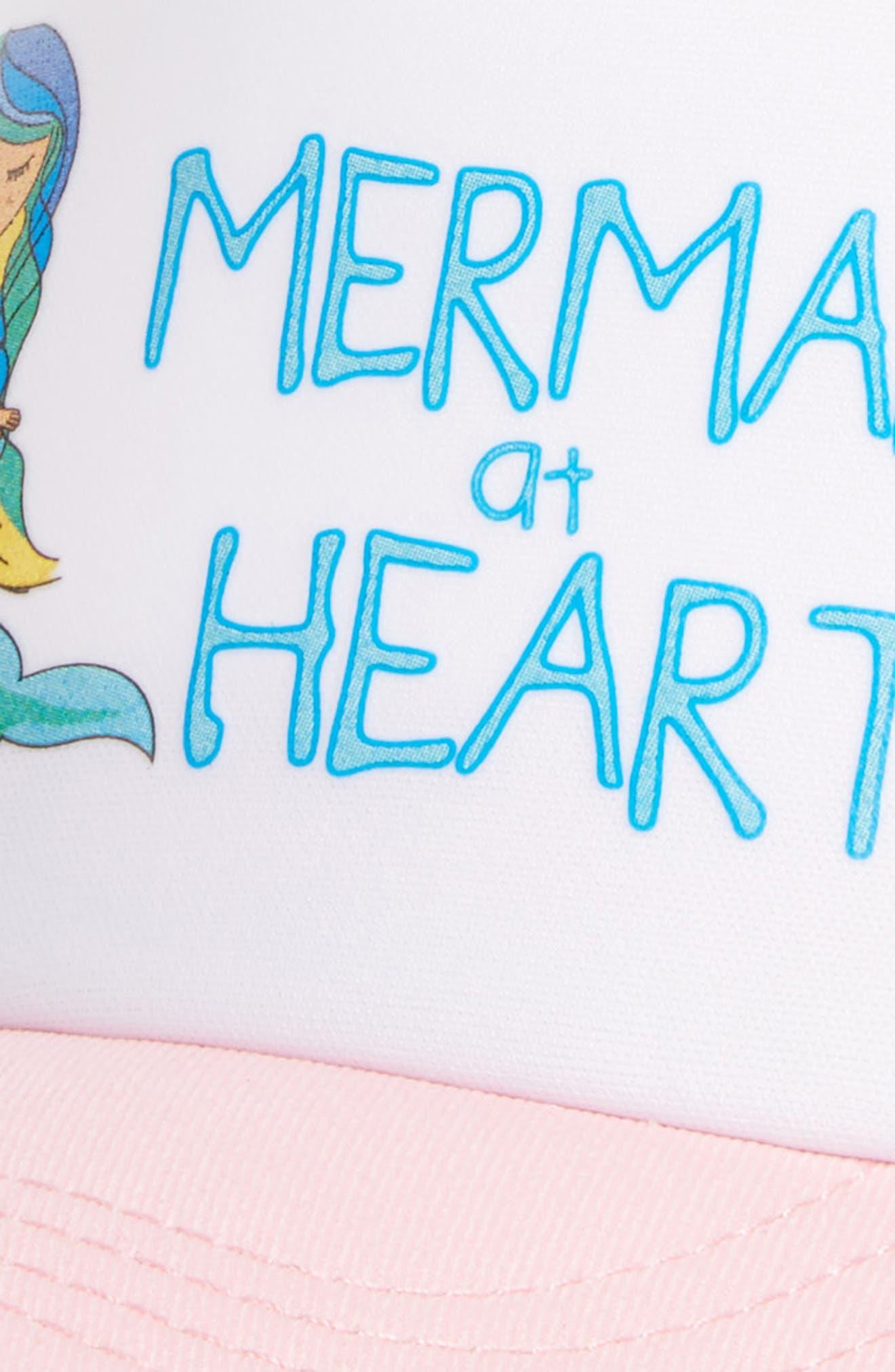 Trucker Hat,                             Alternate thumbnail 3, color,                             MERMAID AT HEART