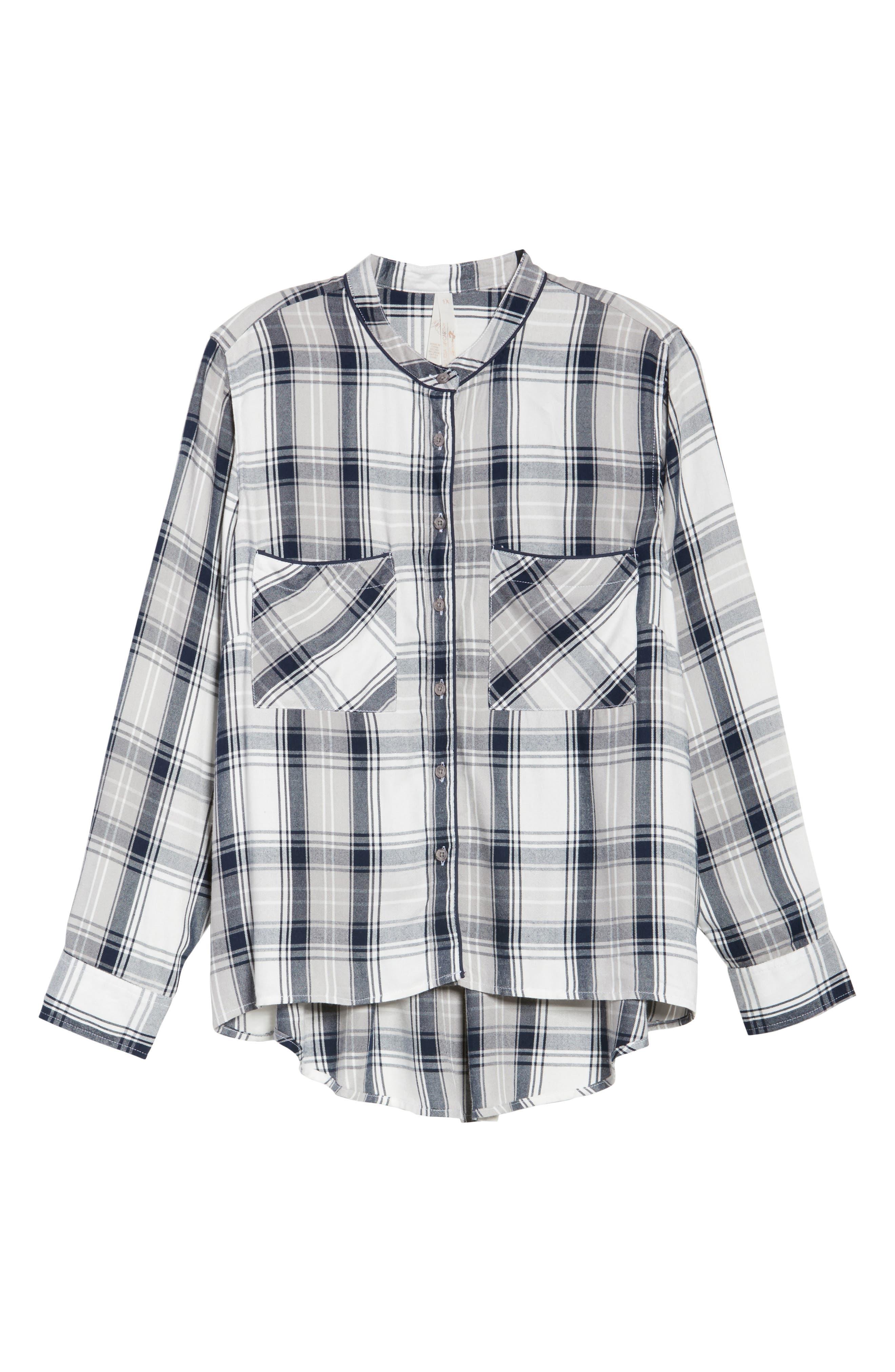 Plaid Shirt,                             Alternate thumbnail 6, color,                             107