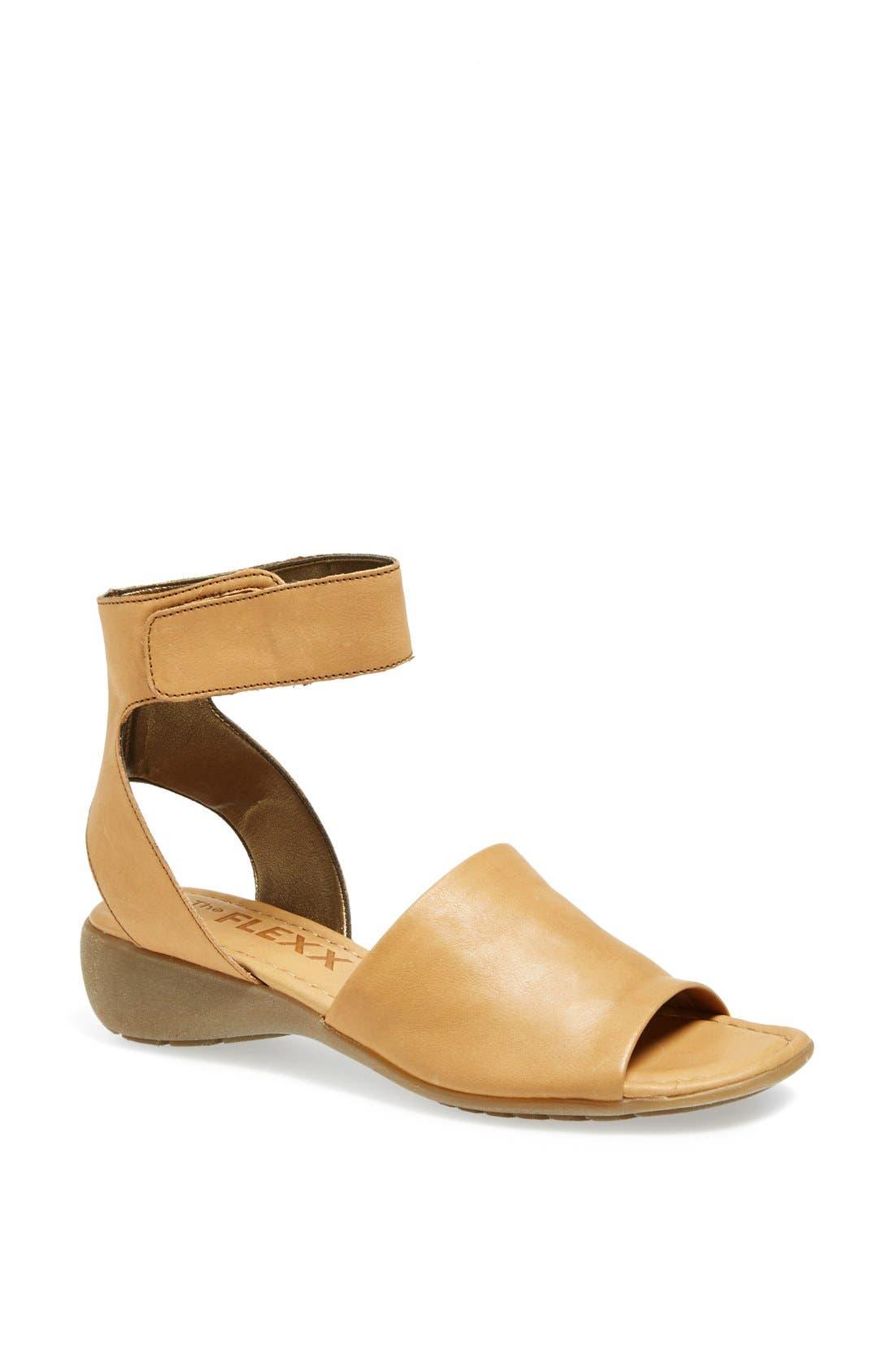 'Beglad' Leather Ankle Strap Sandal,                             Main thumbnail 9, color,