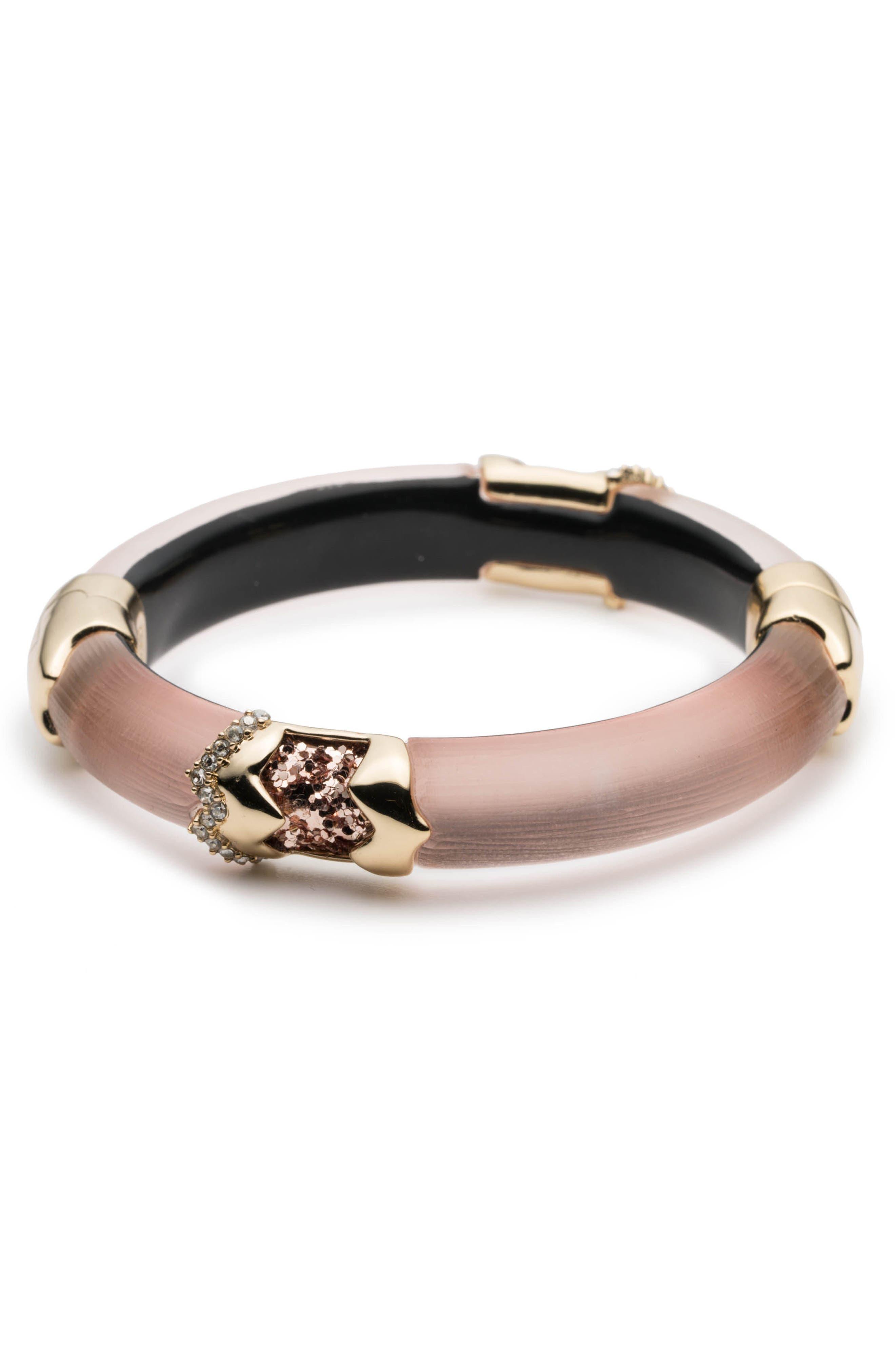 Lucite<sup>®</sup> Side Hinge Bracelet,                             Main thumbnail 2, color,