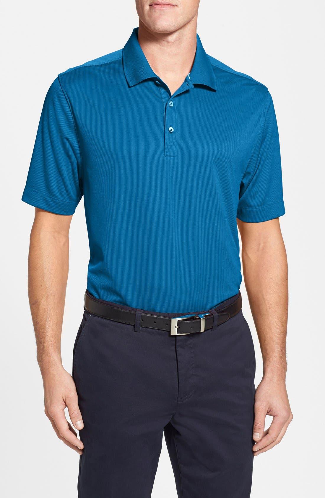 Glendale DryTec Moisture Wicking Polo,                         Main,                         color, 433