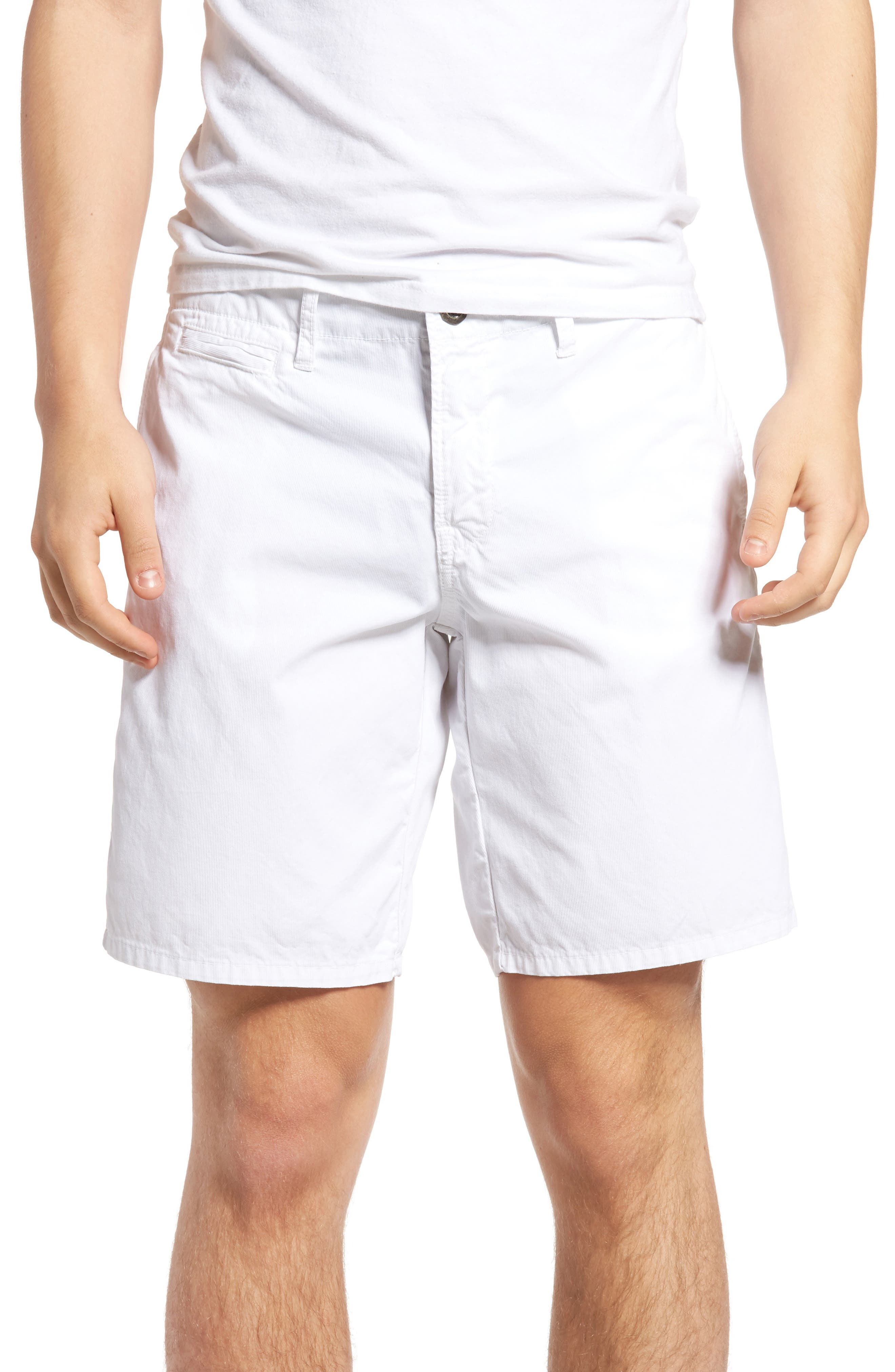 St. Martin Bedford Cord Shorts,                         Main,                         color, 100