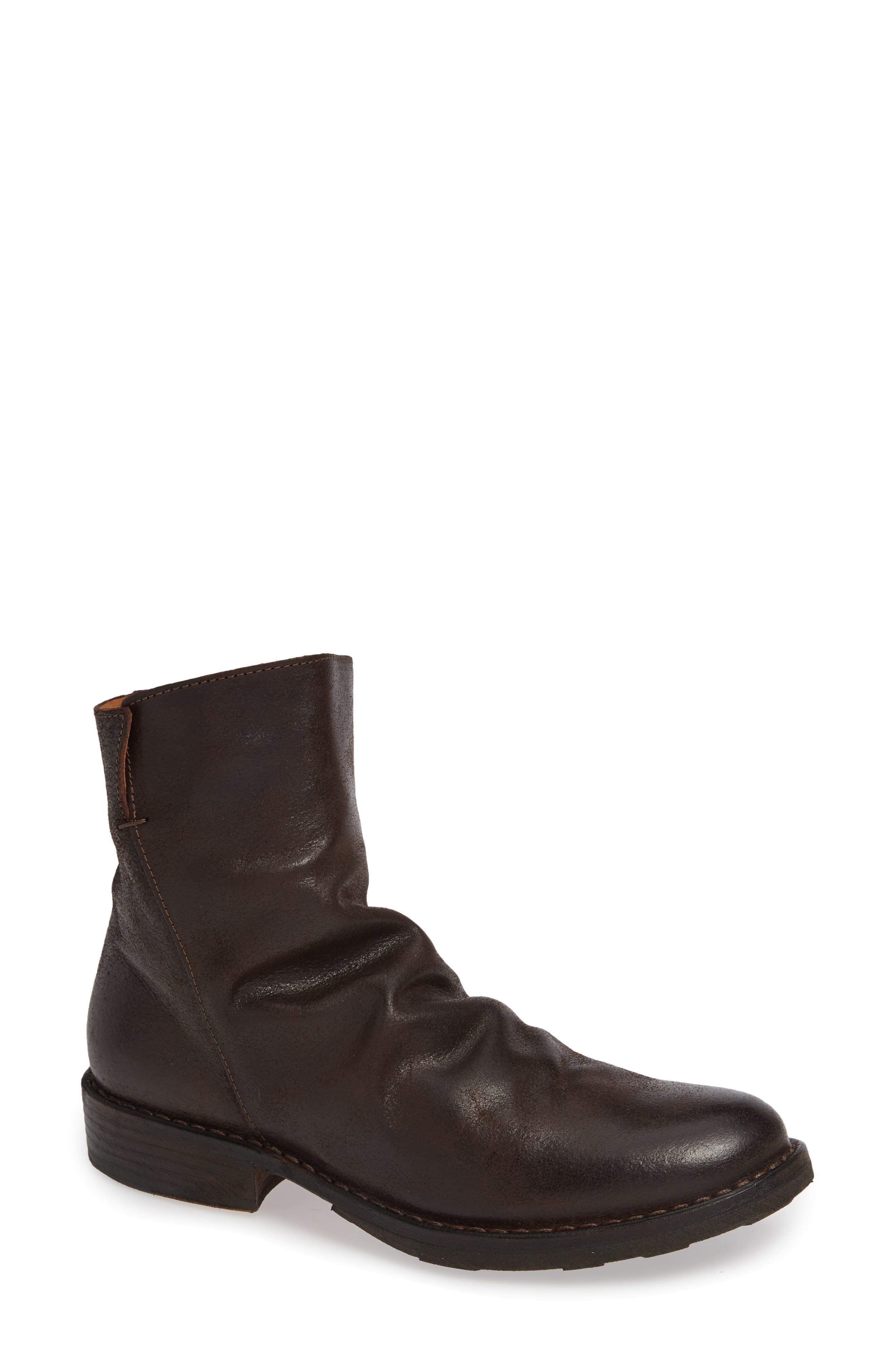 FIORENTINI + BAKER 'Elf' Boot in Coffee Leather