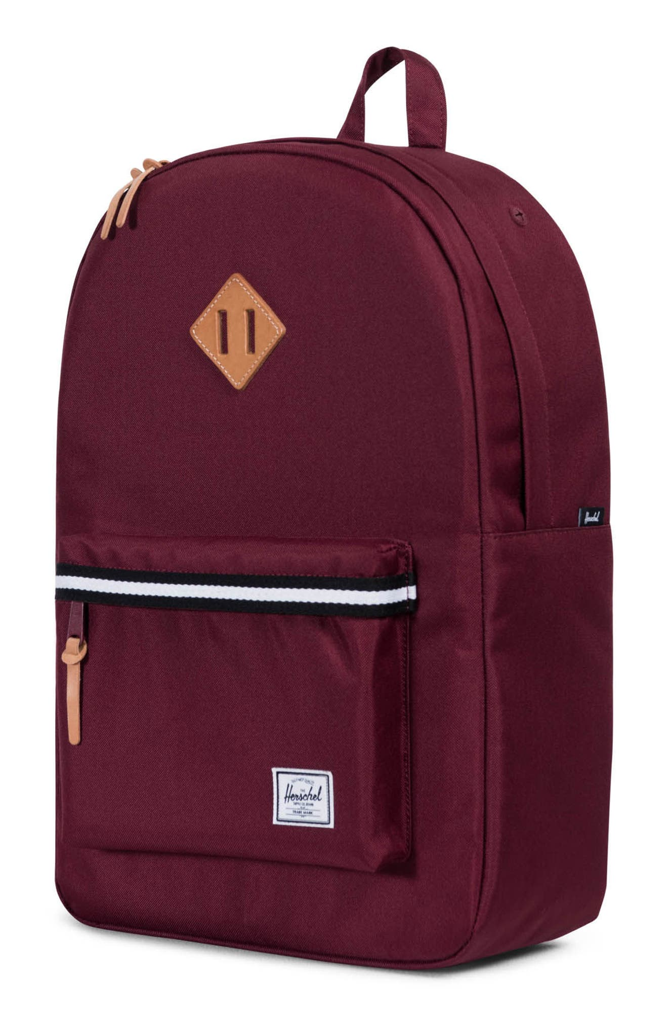 Heritage Offset Stripe Backpack,                             Alternate thumbnail 16, color,