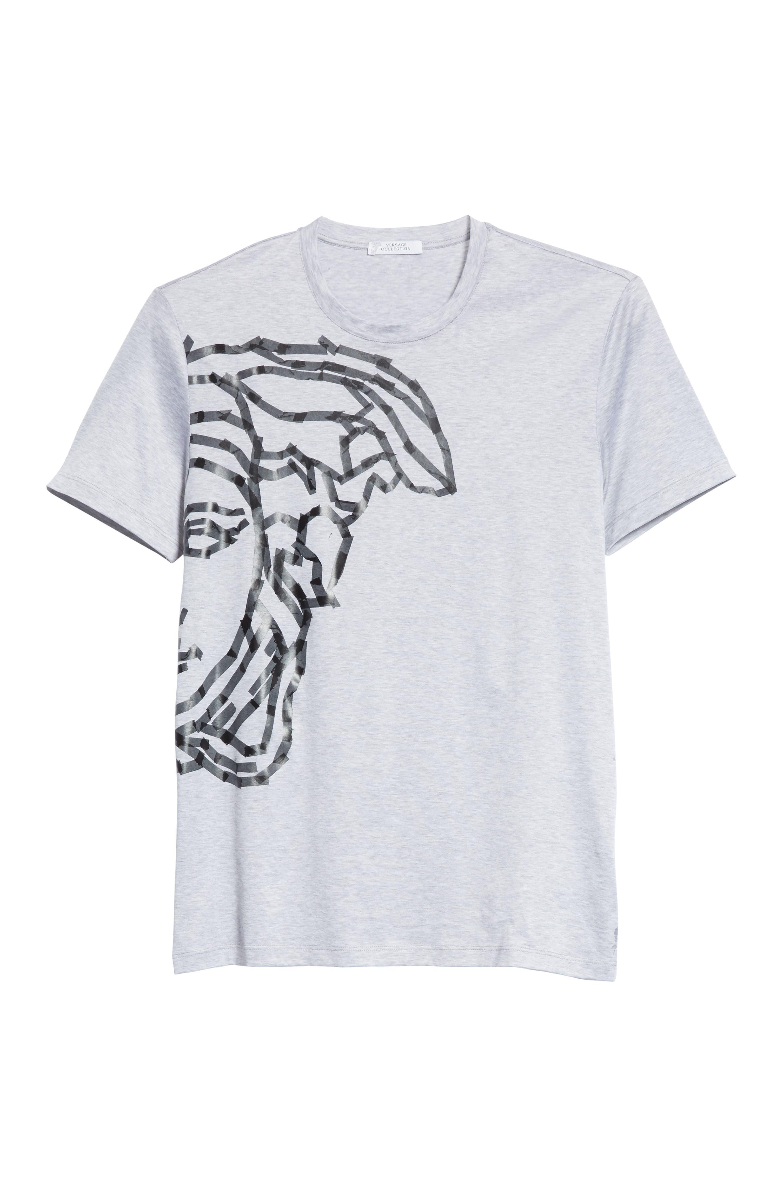 Medusa Tape Graphic T-Shirt,                             Alternate thumbnail 6, color,                             020