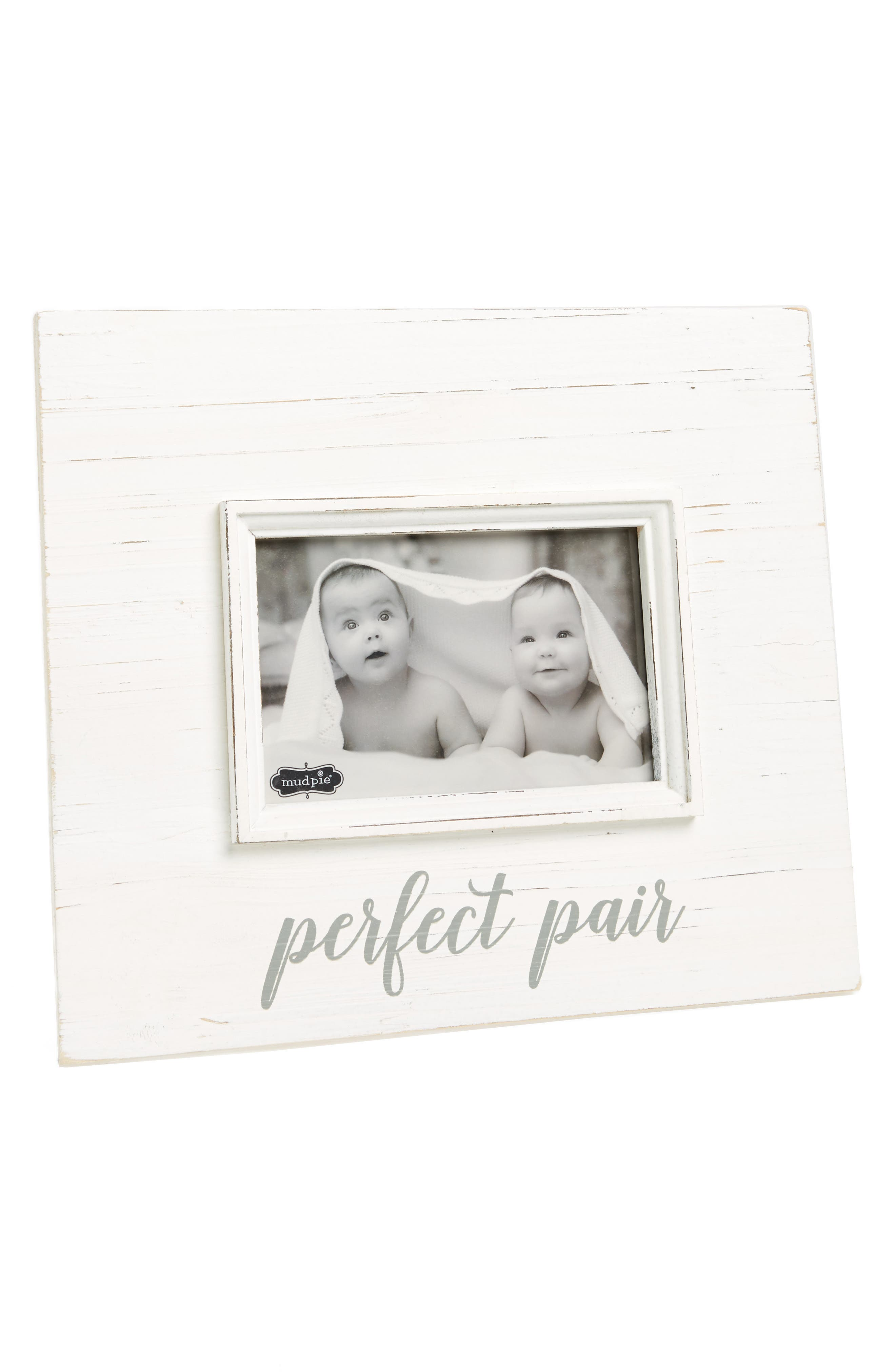 Perfect Pair Picture Frame,                             Main thumbnail 1, color,                             100