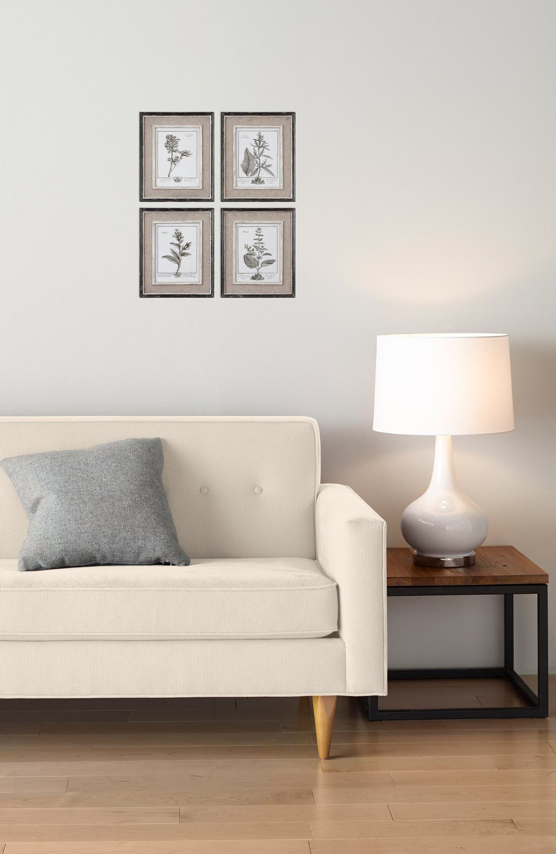 'Casual Grey Study' Wall Art,                             Alternate thumbnail 3, color,