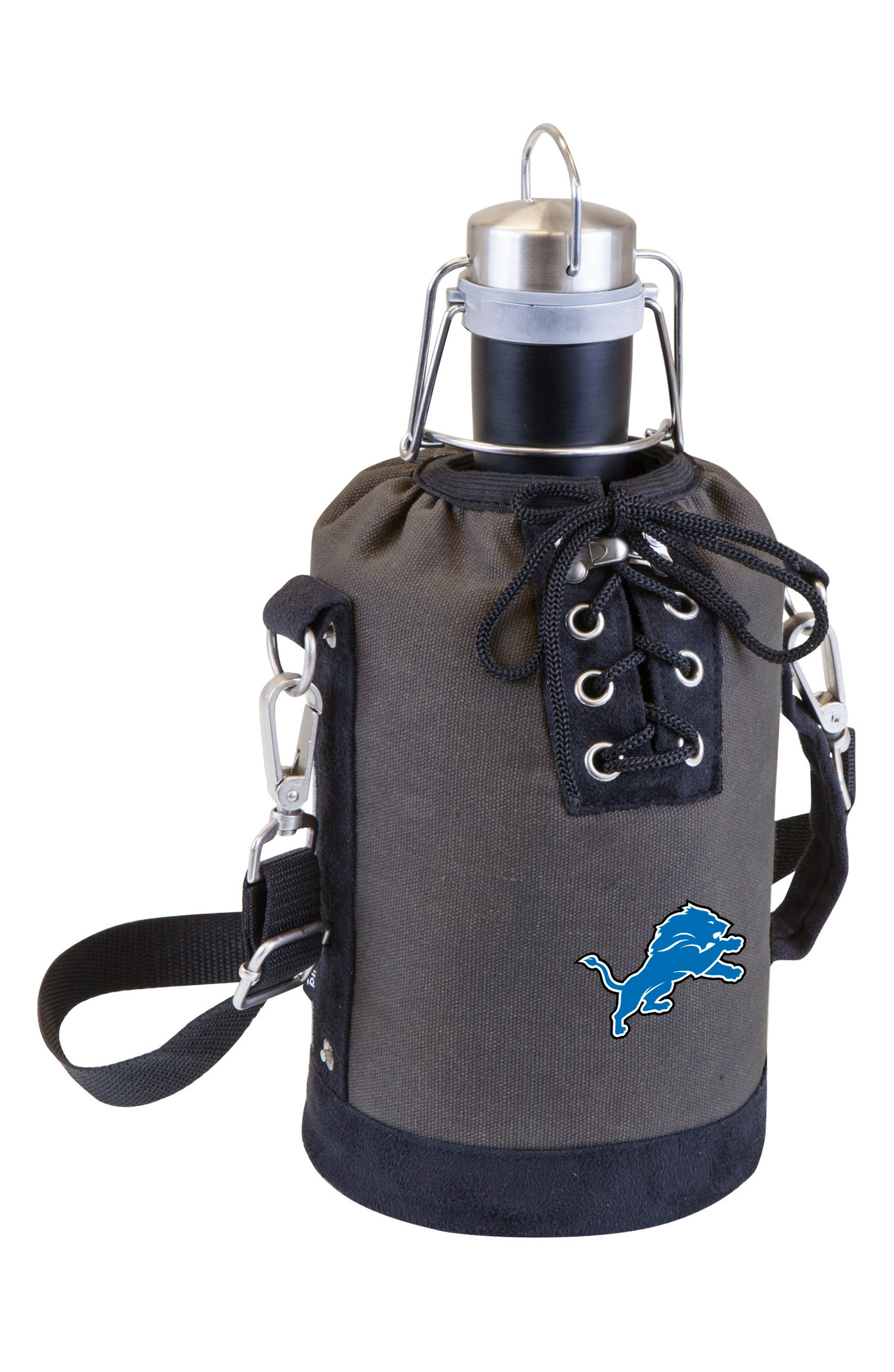 NFL Team Logo Tote & Stainless Steel Growler,                             Main thumbnail 11, color,