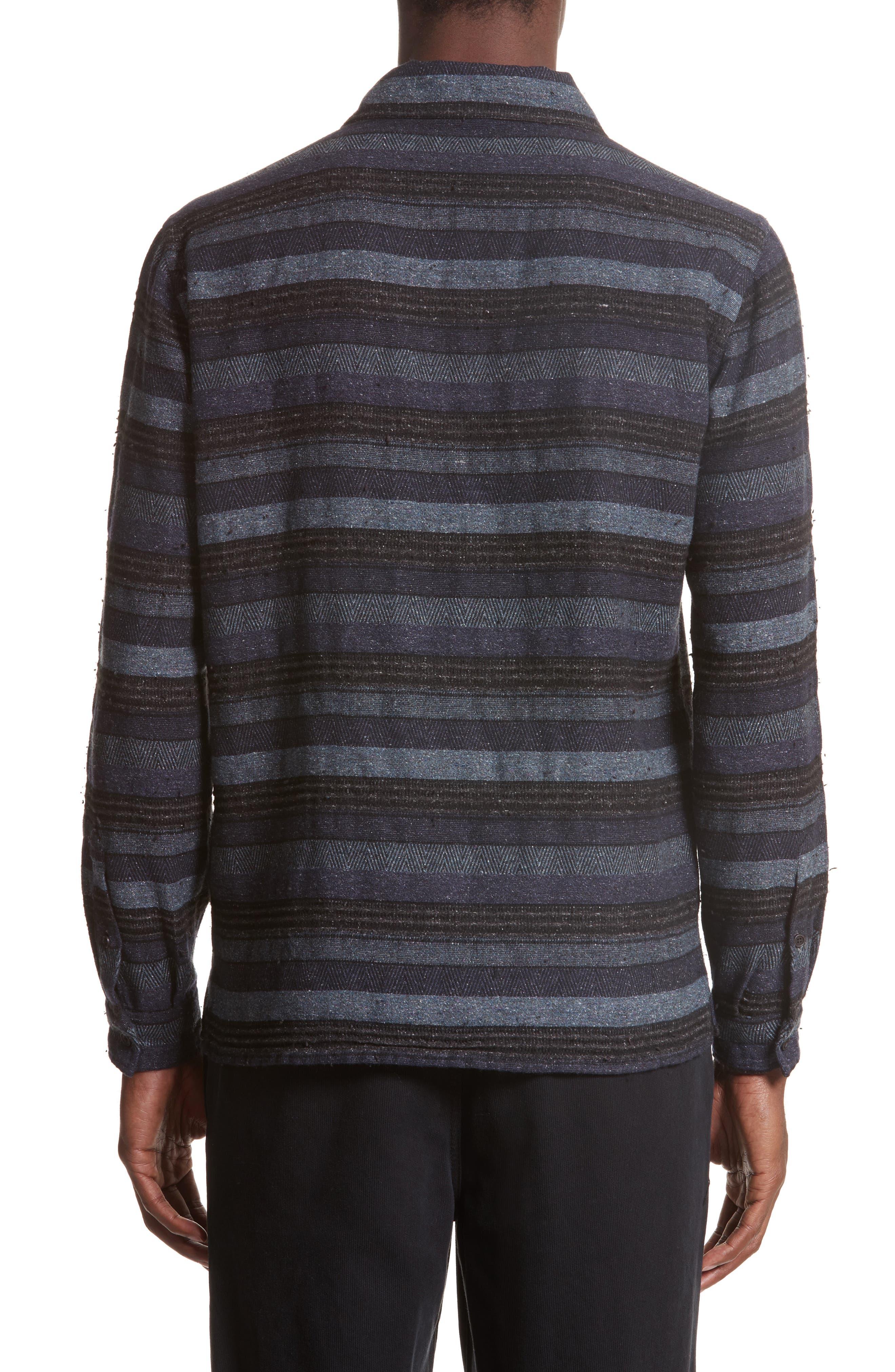 Napoli Mix Stripe Shirt,                             Alternate thumbnail 2, color,                             461