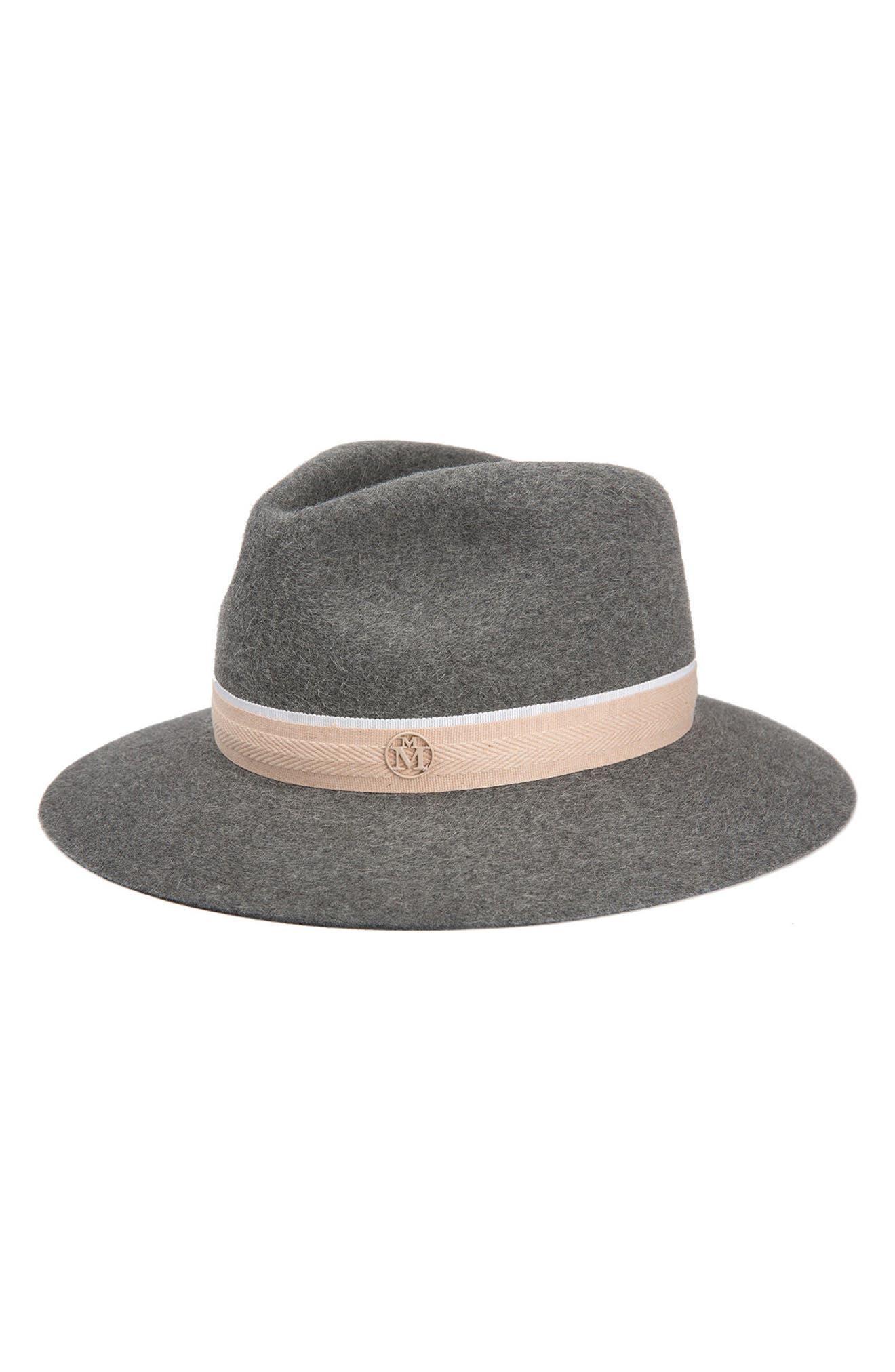Rico Fur Felt Hat,                             Main thumbnail 1, color,                             020