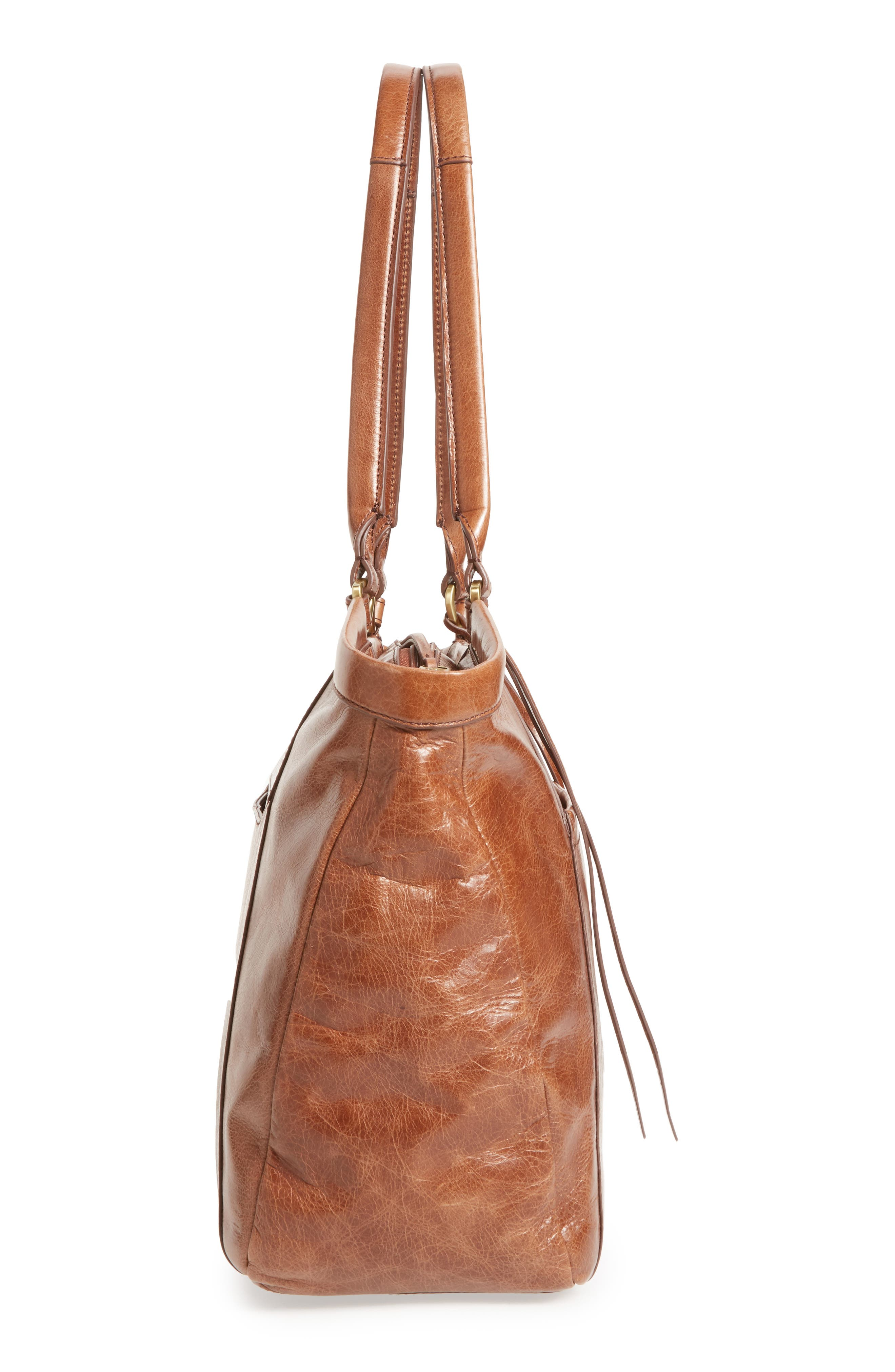 Maryanna Leather Tote,                             Alternate thumbnail 25, color,