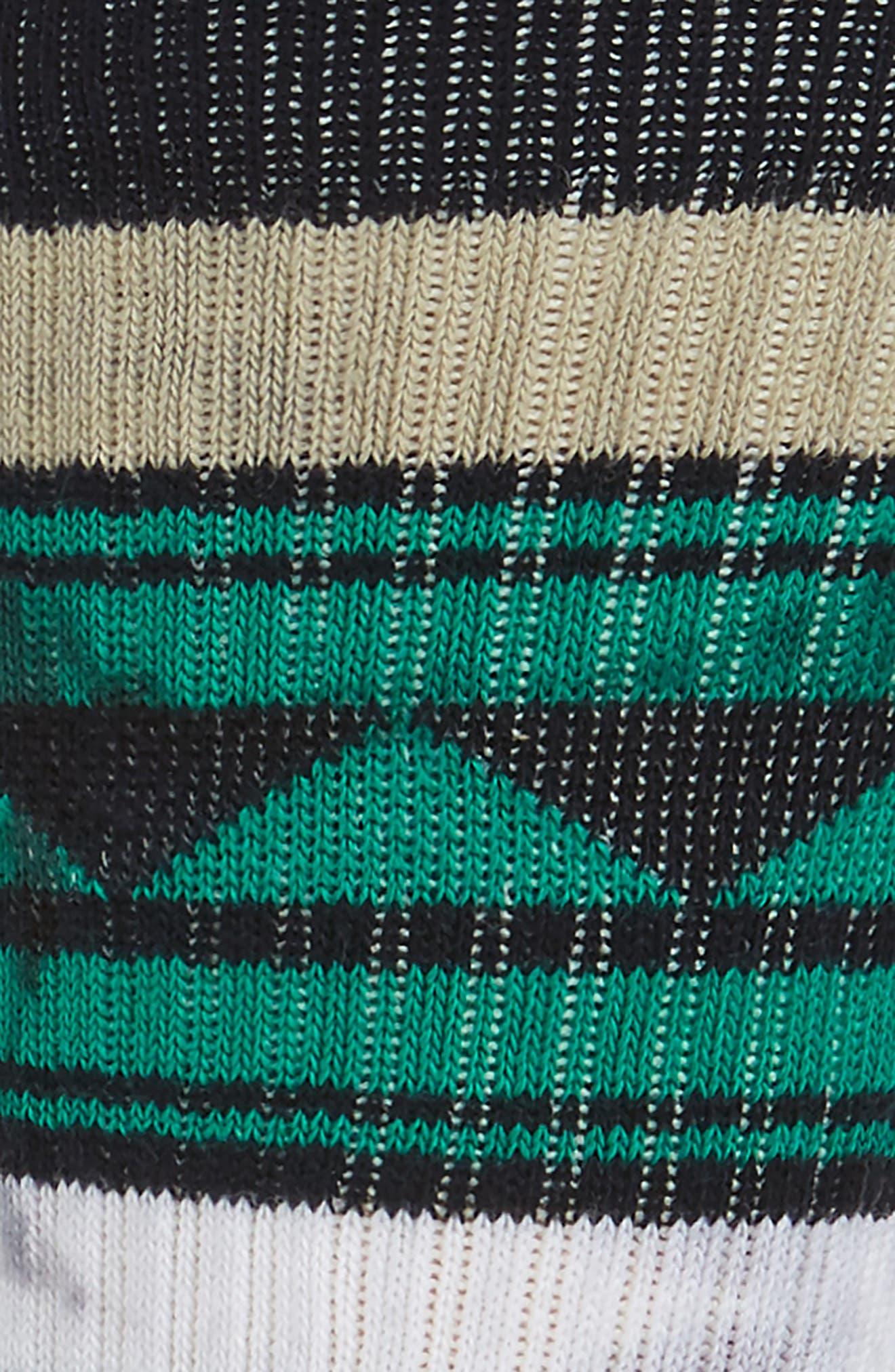 Pachuca Crew Socks,                             Alternate thumbnail 2, color,                             001