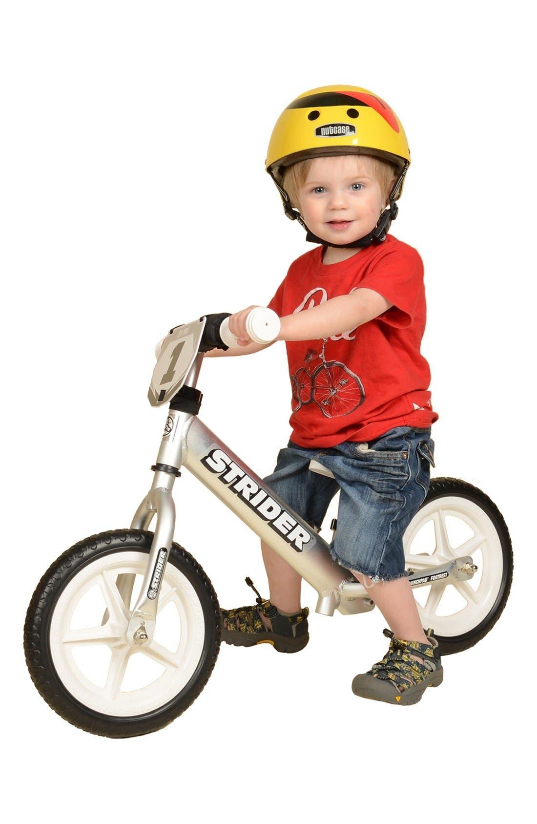 12 Pro Balance No Pedal Bike,                             Alternate thumbnail 7, color,                             SILVER