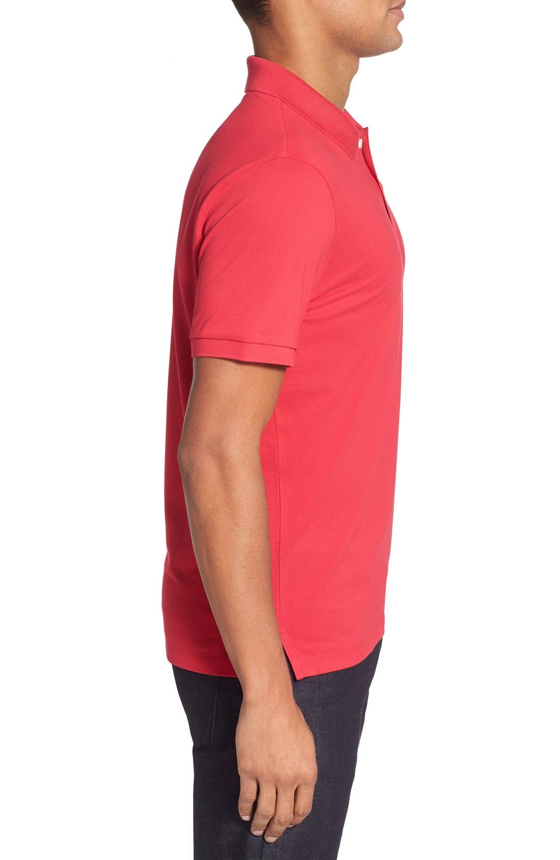 'Pallas' Regular Fit Logo Embroidered Polo Shirt,                             Alternate thumbnail 50, color,