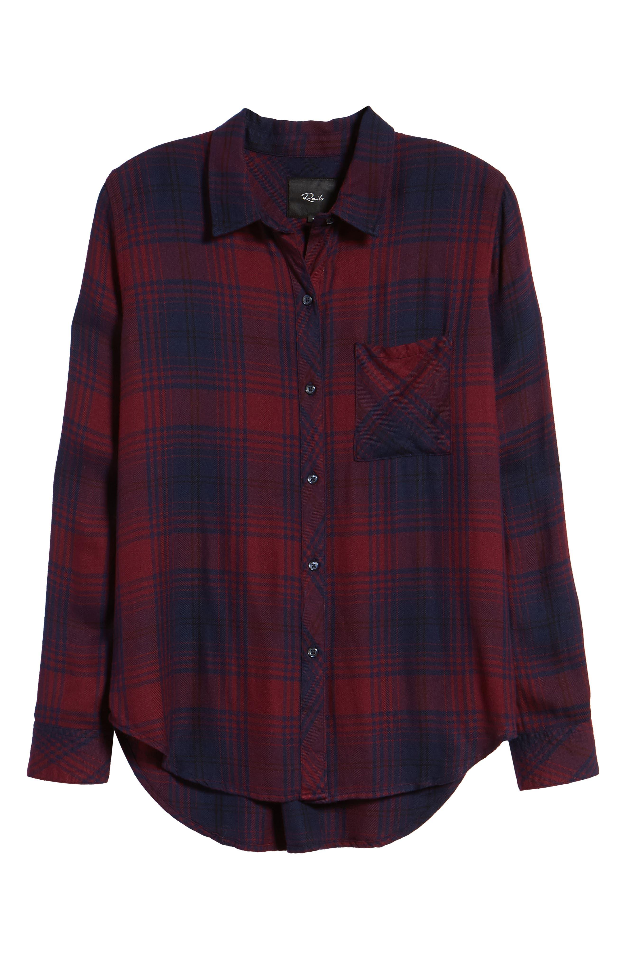 Hunter Plaid Shirt,                             Alternate thumbnail 722, color,
