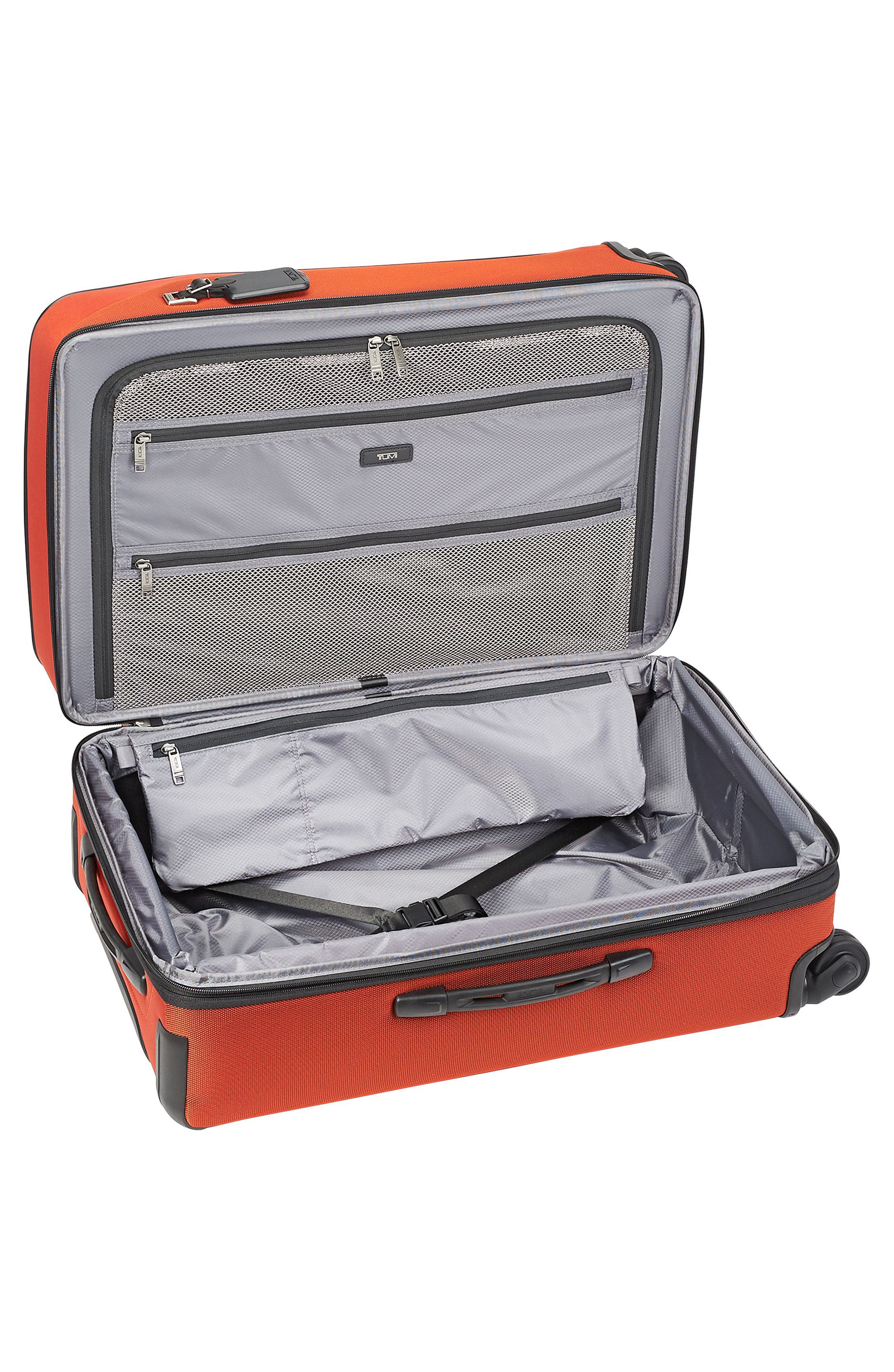 Merge - Short Trip Expandable Rolling Suitcase,                             Alternate thumbnail 2, color,                             SUNSET RED