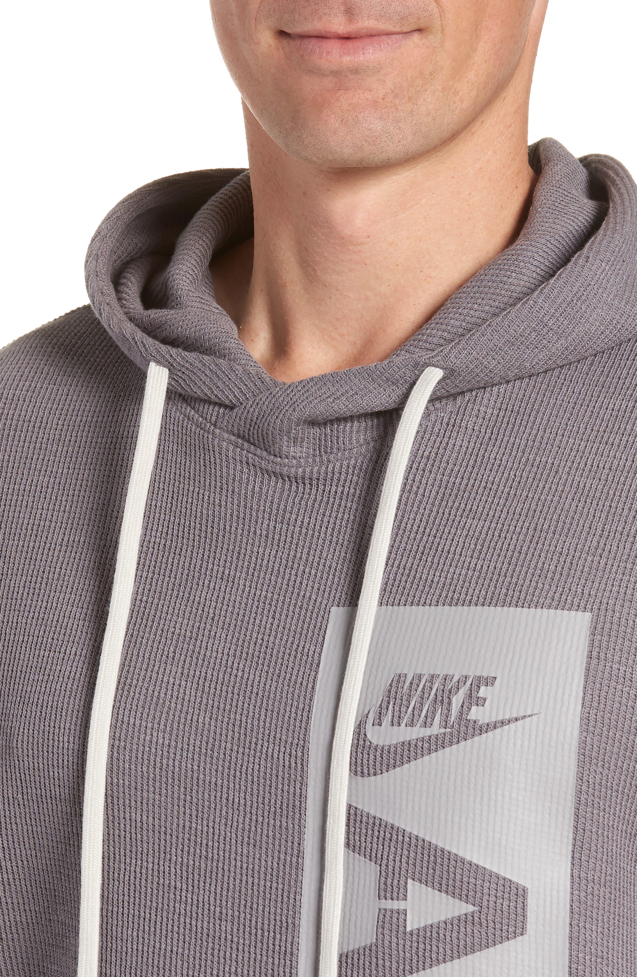 NIKE,                             Sportswear AF-1 Hoodie,                             Alternate thumbnail 4, color,                             036